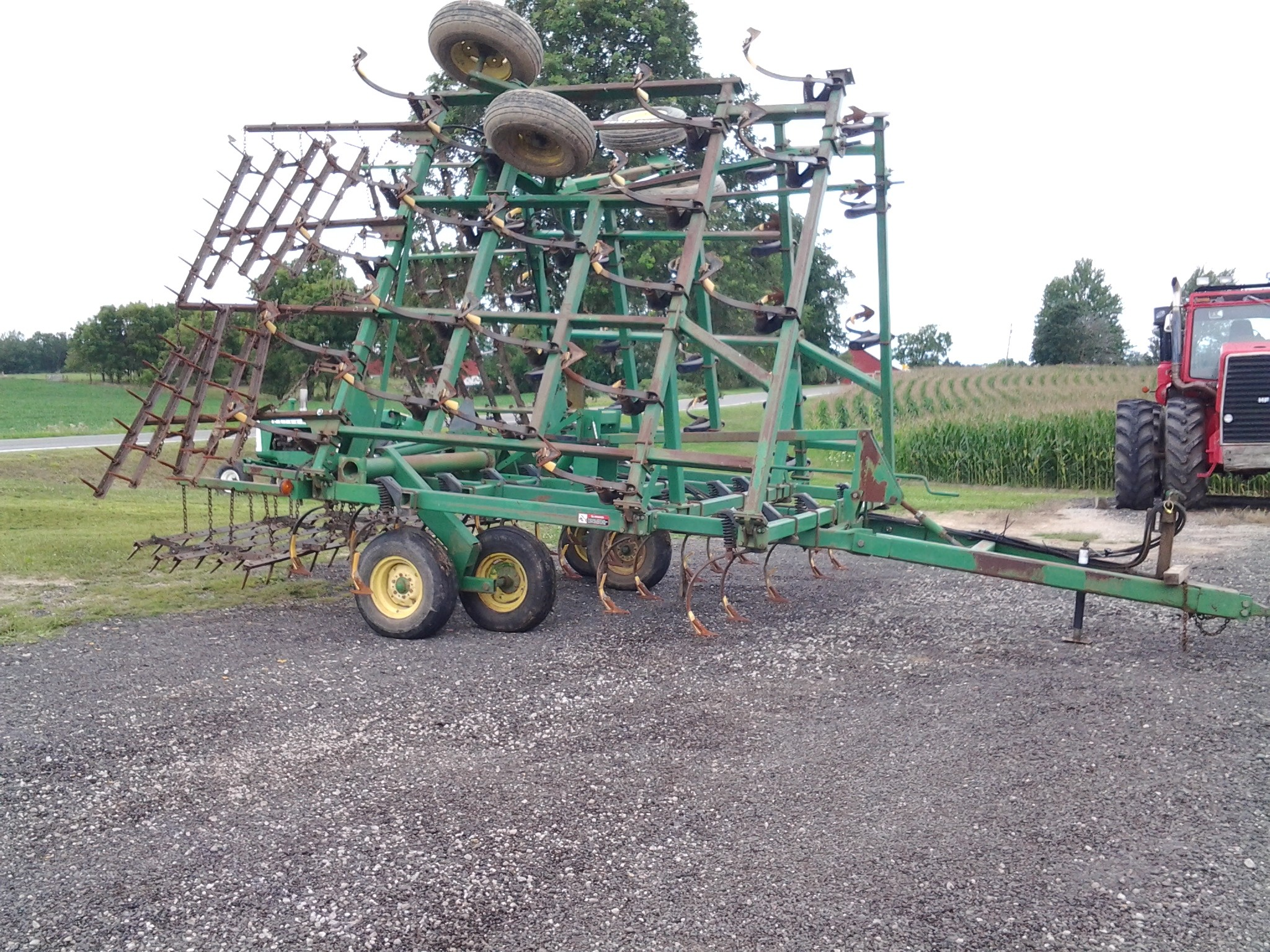 Used, 0, John Deere, Field Cultivator 980, Agricultural Equipment
