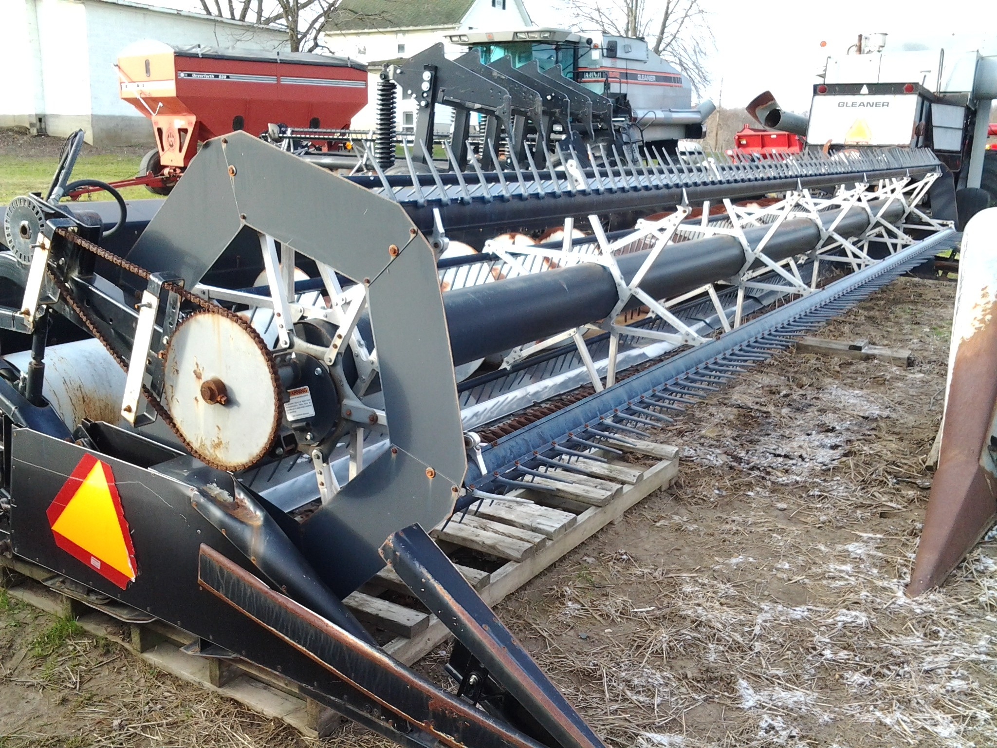 Used, 2002, AGCO, MF 9850 30, Agricultural Equipment