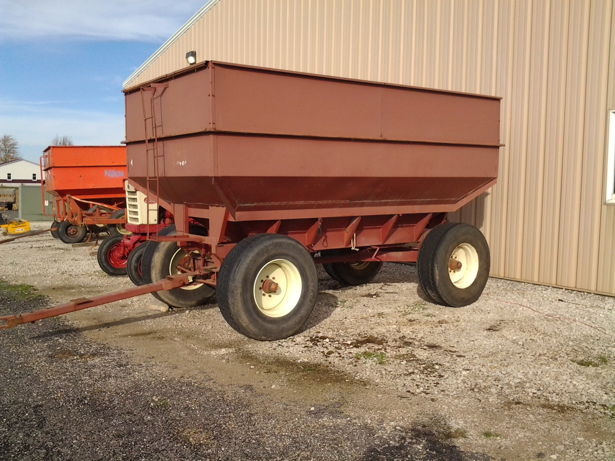 Used, 0, M&W, 400B, Agricultural Equipment