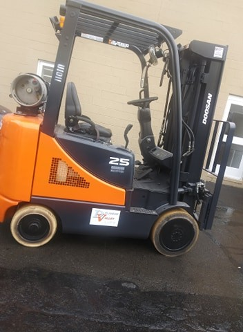 Used, 2012, Doosan Industrial Vehicle, GC25E-5, Forklifts / Lift Trucks