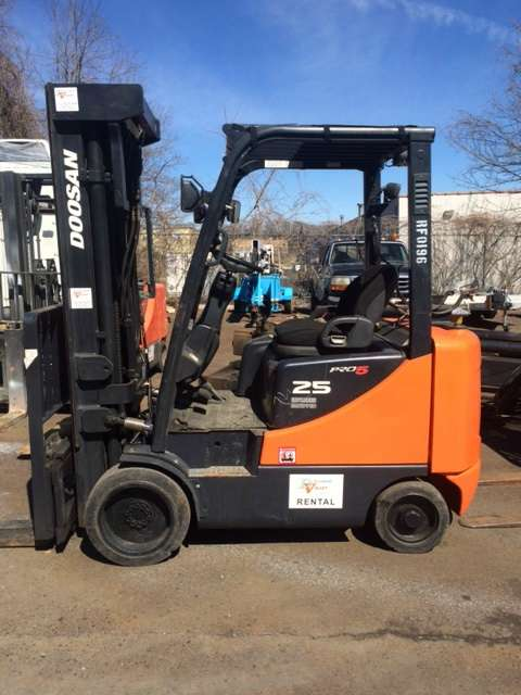 Used, 1900, Doosan Industrial Vehicle, GC25E-5LP, Forklifts / Lift Trucks