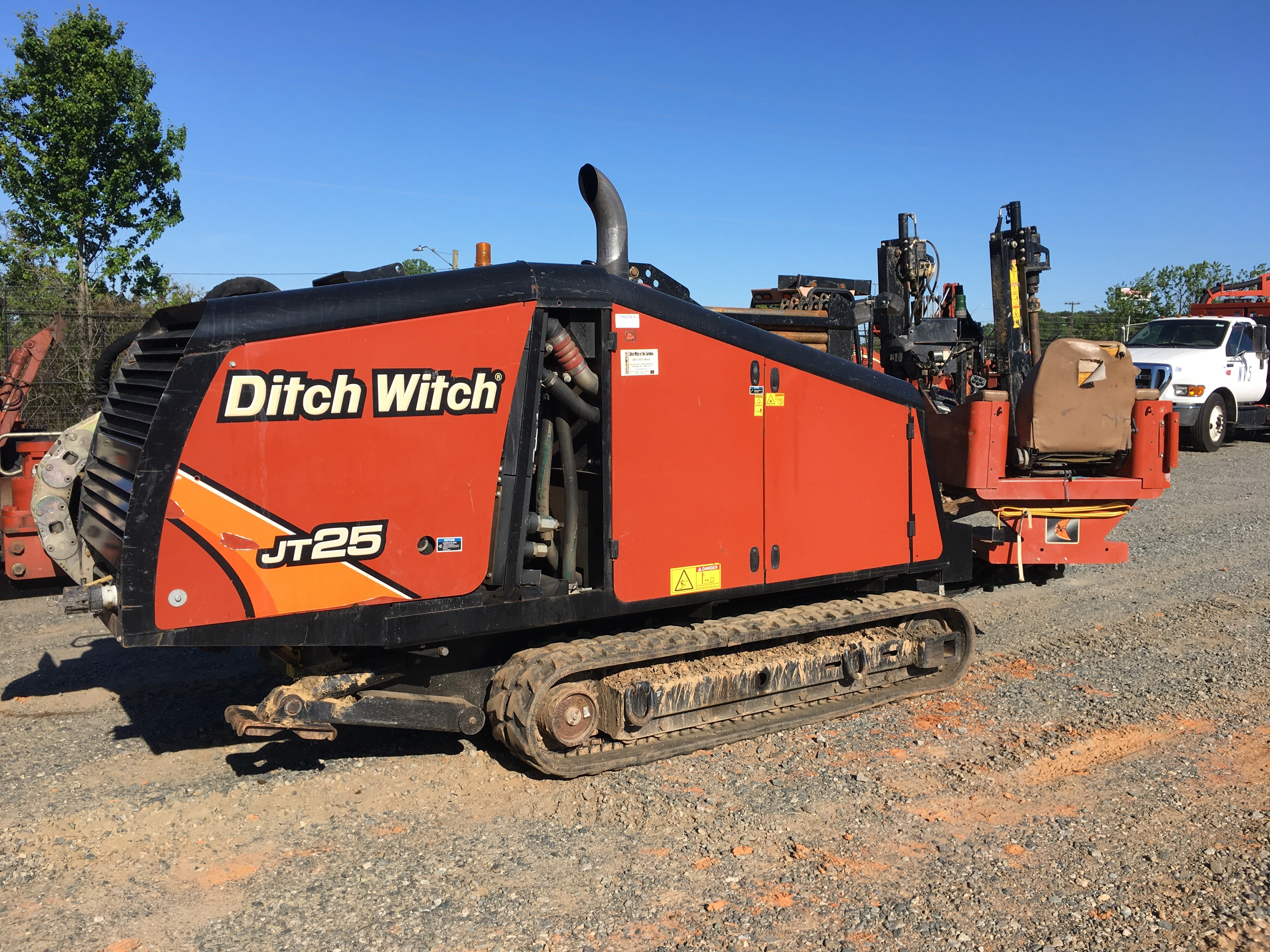 Used, 2015, Ditch Witch, Ditch Witch JT25 (Tier 4 Final), Boring / Drilling Machines