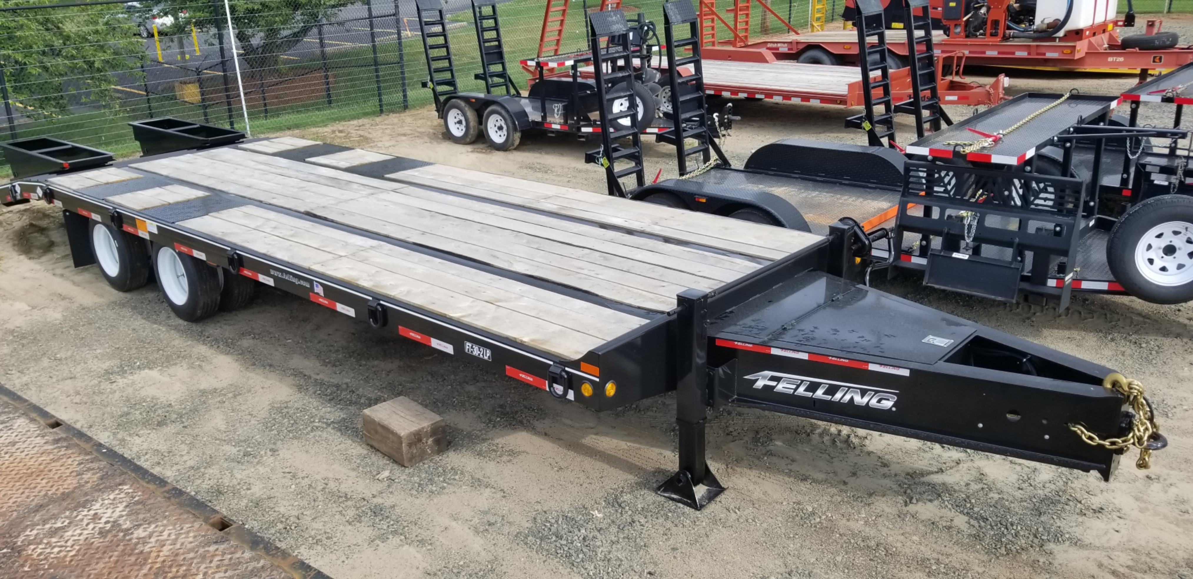 [DIAGRAM_38DE]  New Felling Trailers FT-30-2 LP Deck-Over Tag in Charlotte, NC | Felling Trailer Wiring Harness For A |  | Ditch Witch Equipment of NC & SC