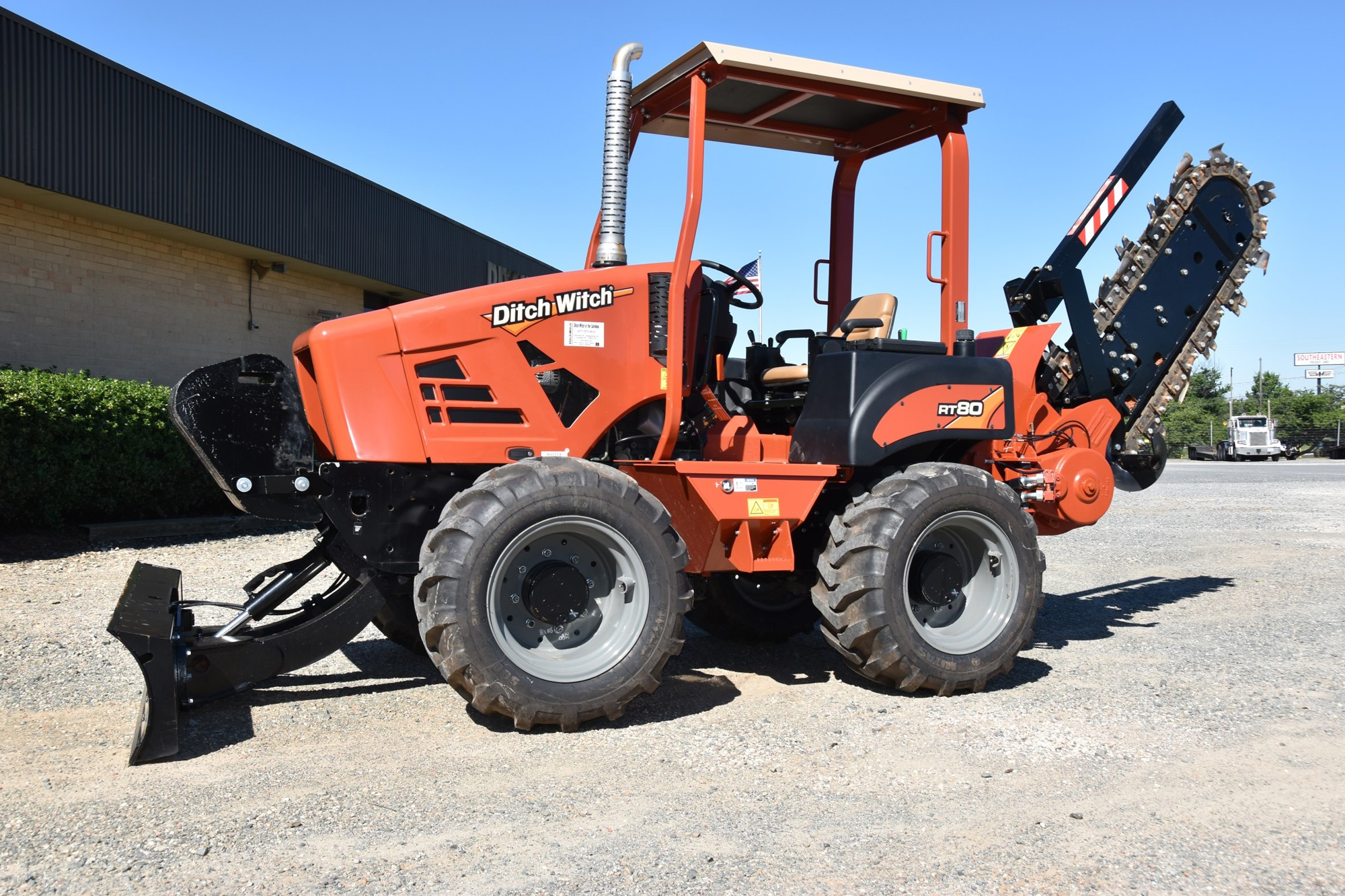New, Ditch Witch, RT80  with H810 Trencher, Trenchers