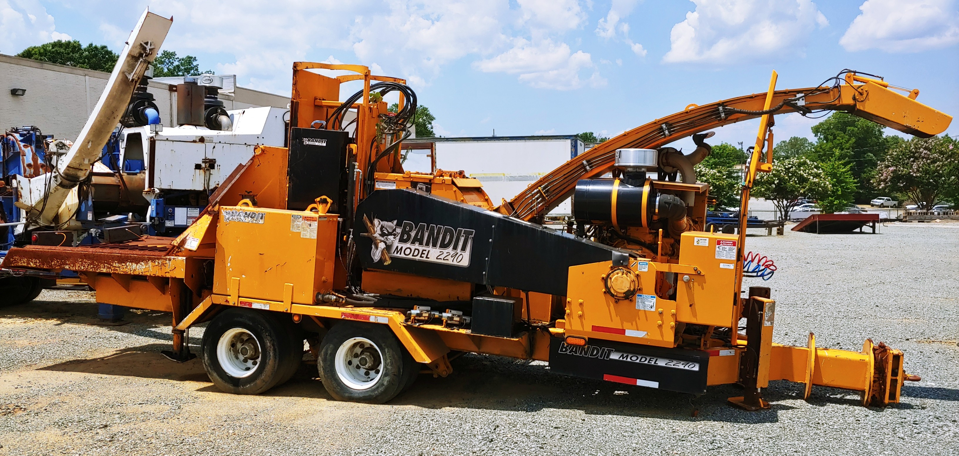 forestry chipper, bandit, wood chipper, used, sc, nc