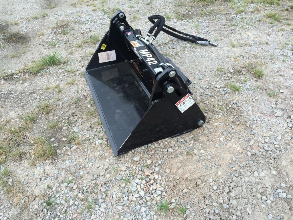 New, Bradco, 4-in-1 Bucket, Loader Attachments