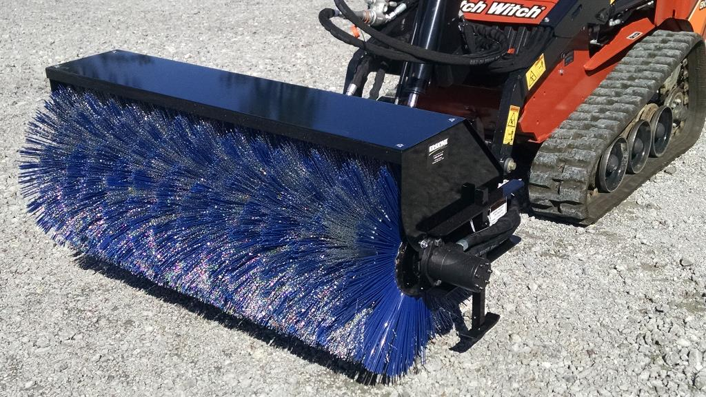 New, Erskine, Mini Broom/Sweeper, Loader Attachments