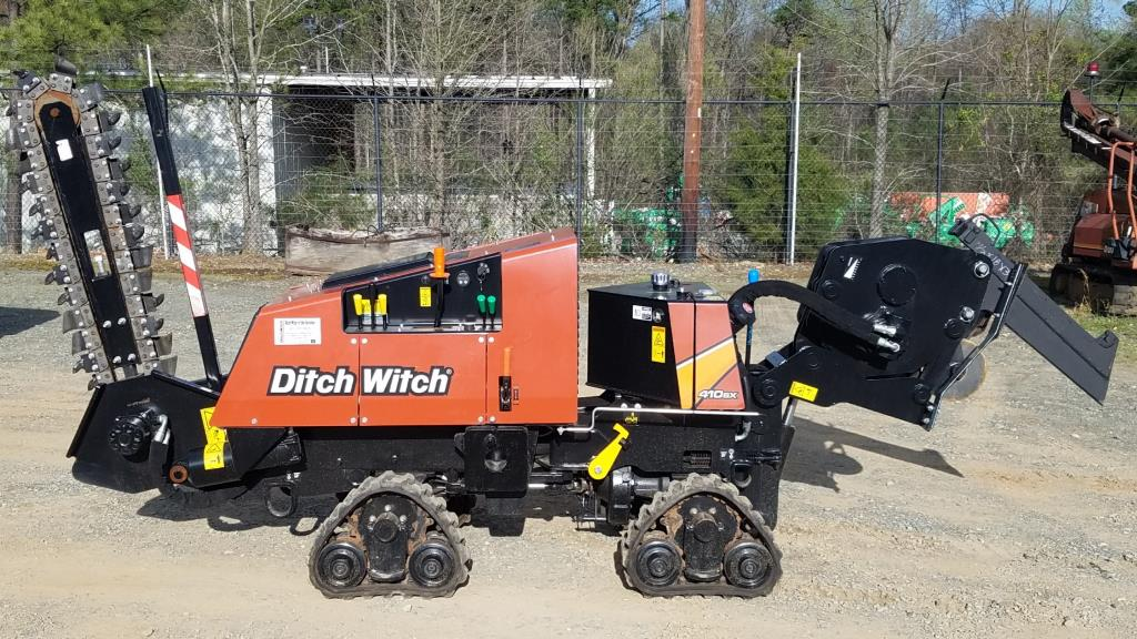 New, Ditch Witch, 410SX Vibratory QUAD Plow, Trenchers