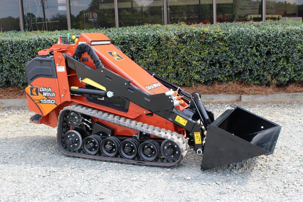 New, Ditch Witch, SK1550, Skid Steers