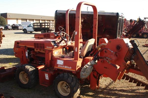 Used, 1996, Ditch Witch, 3500DD Hydrostatic Trencher/Plow, Trenchers