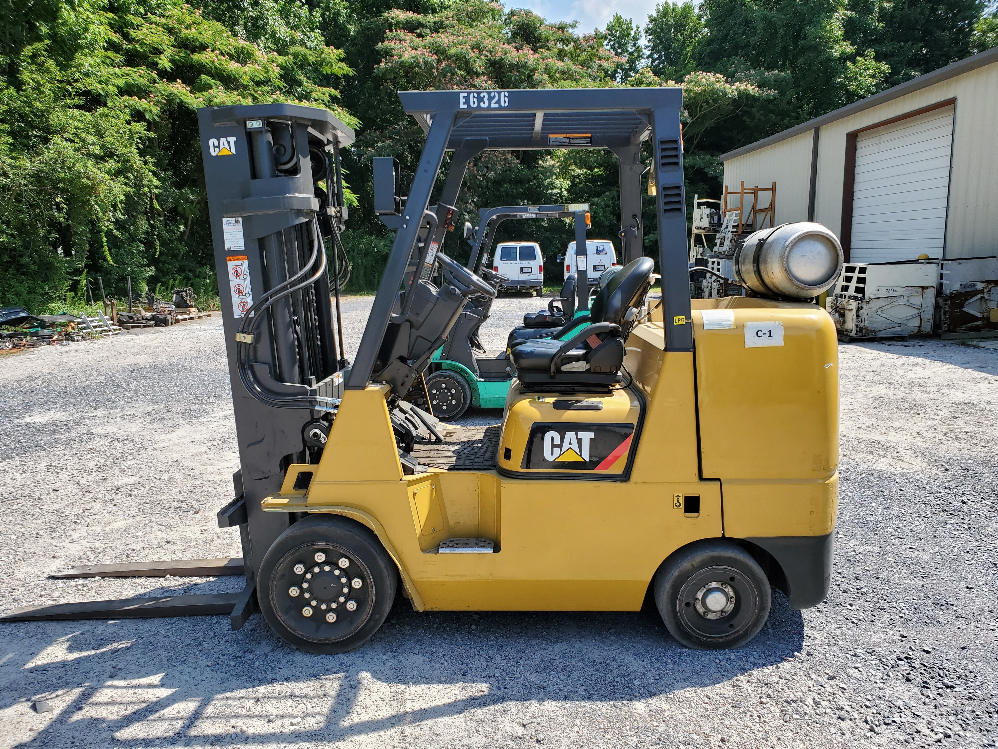 Used, 2016, CAT Lift Trucks, GC45K, Forklifts / Lift Trucks