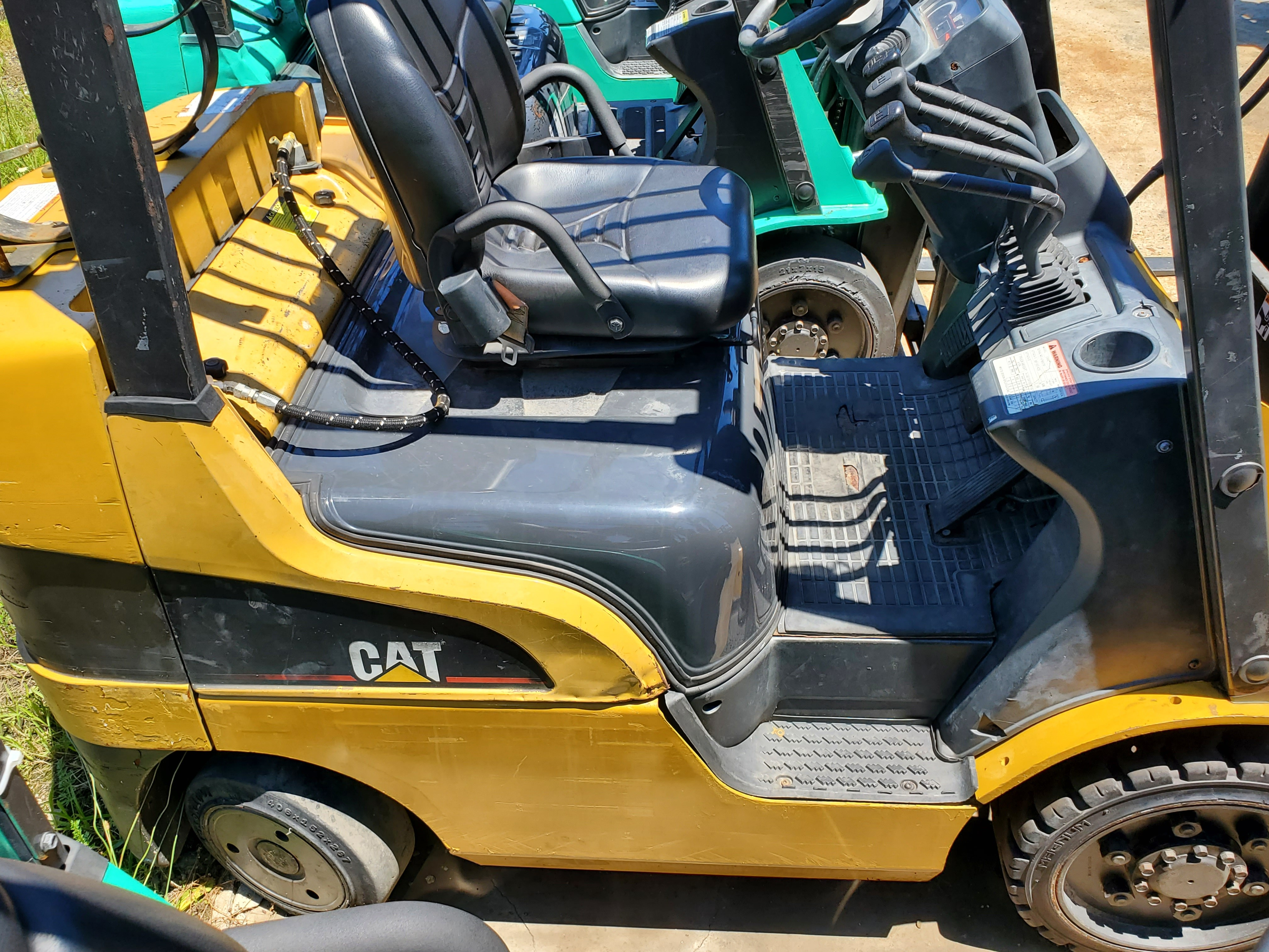 Used, 2006, CAT, c5000, Forklifts