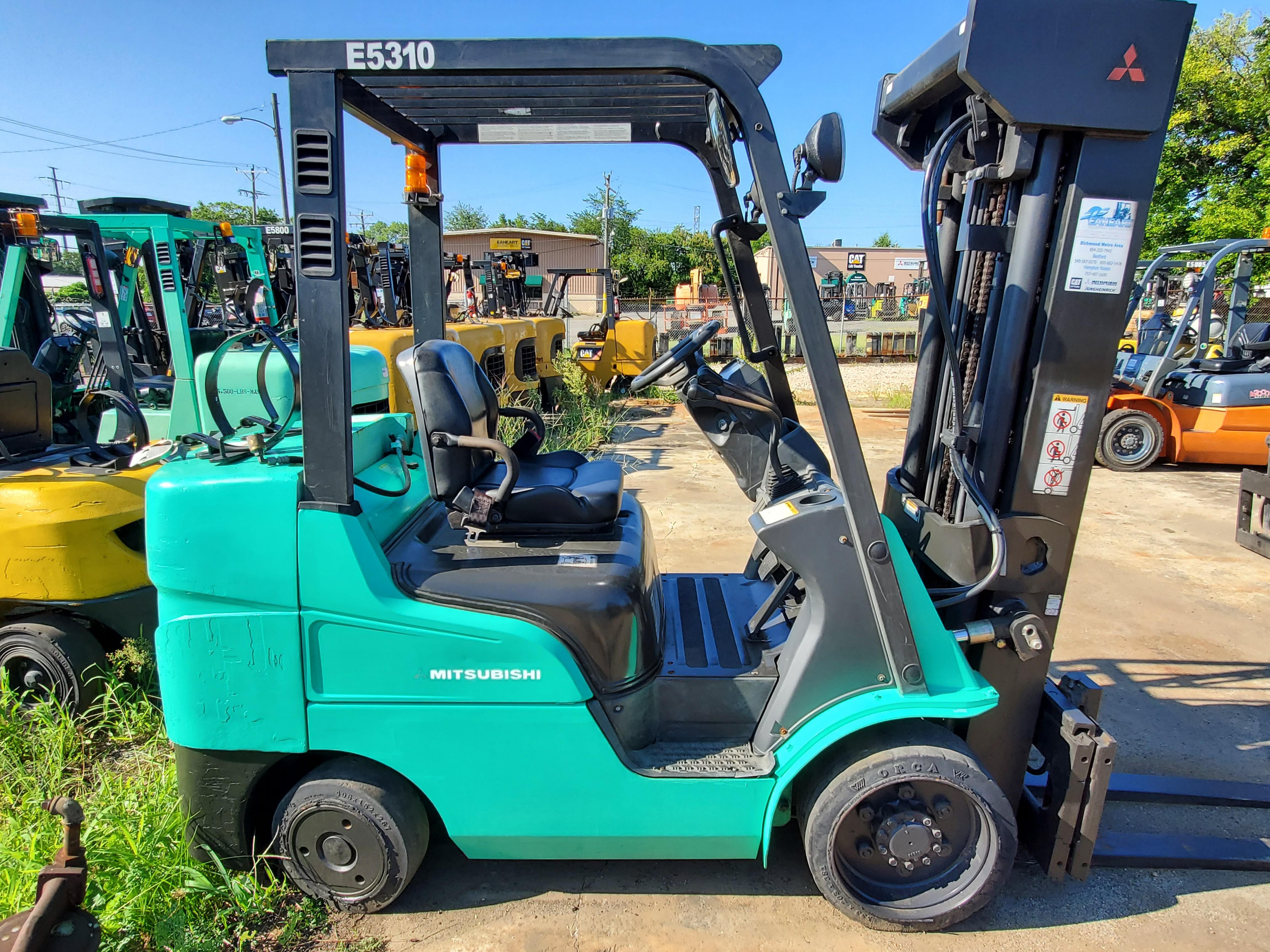 Used, 2011, Mitsubishi Forklift, FGC30N, Forklifts / Lift Trucks