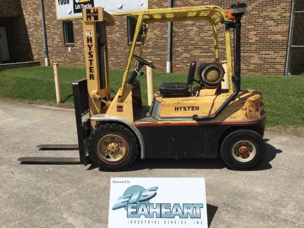 Used, 1989, Hyster, H60H, Forklifts / Lift Trucks