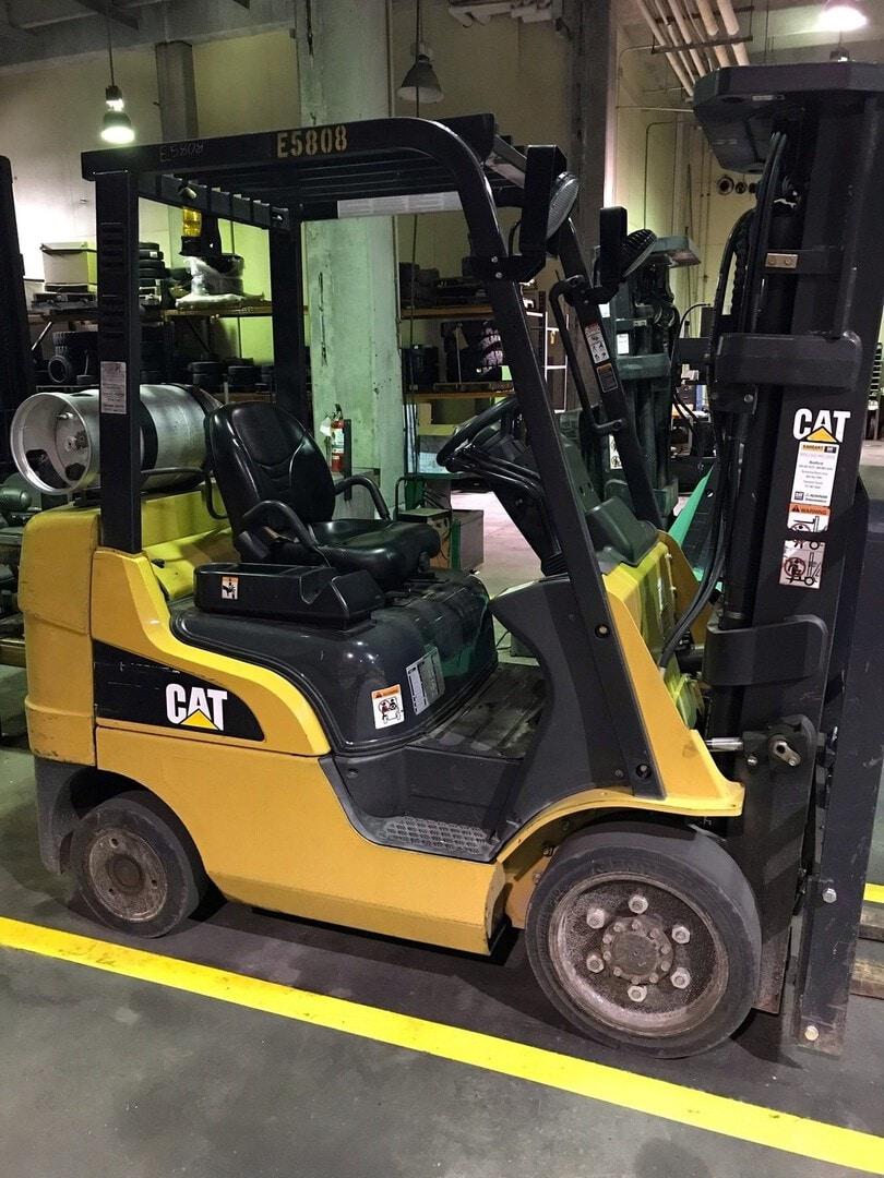 Used, 2010, CAT Lift Trucks, C5000, Forklifts / Lift Trucks