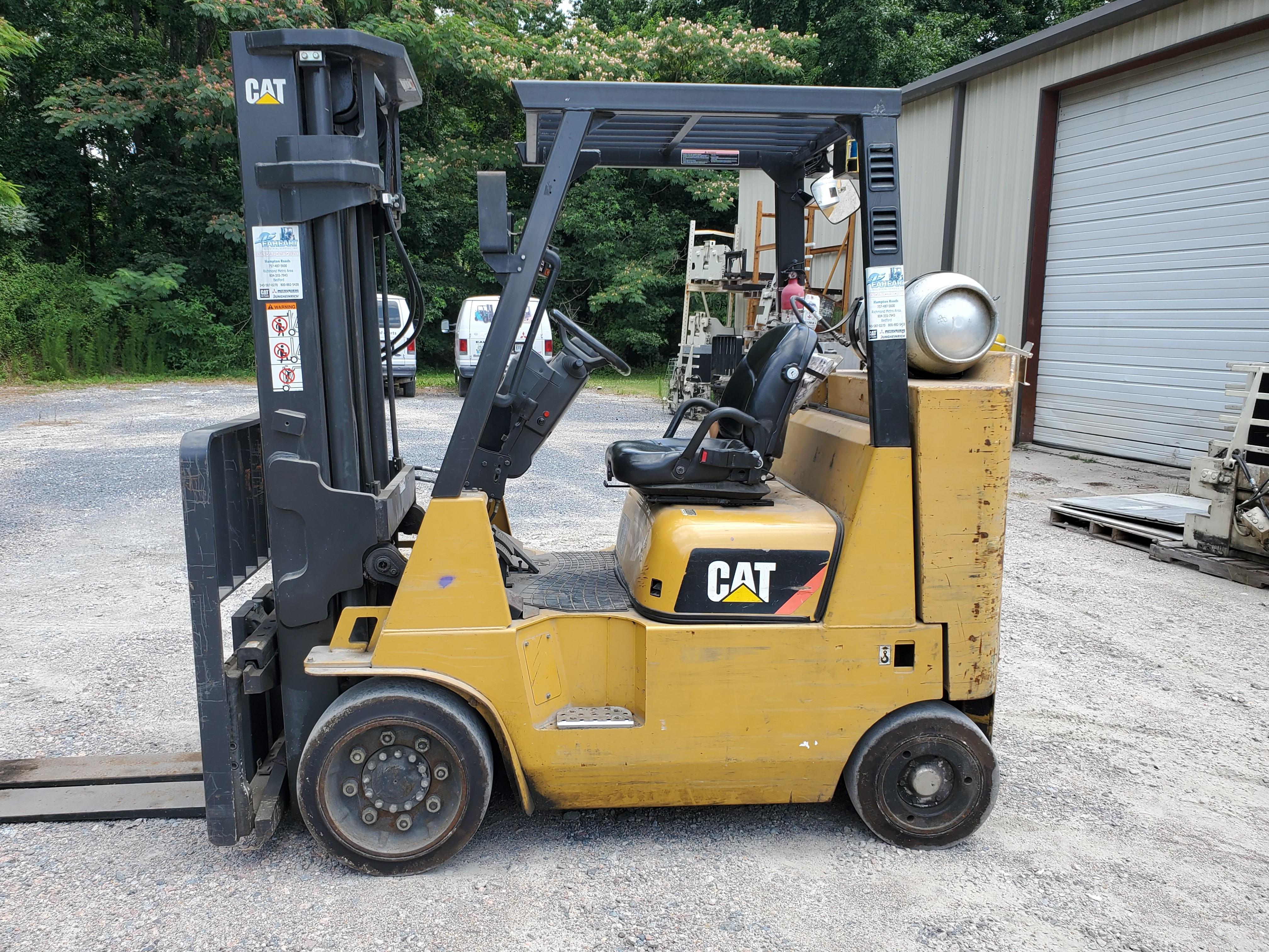 Used, 2013, CAT Lift Trucks, GC40K STR, Forklifts / Lift Trucks
