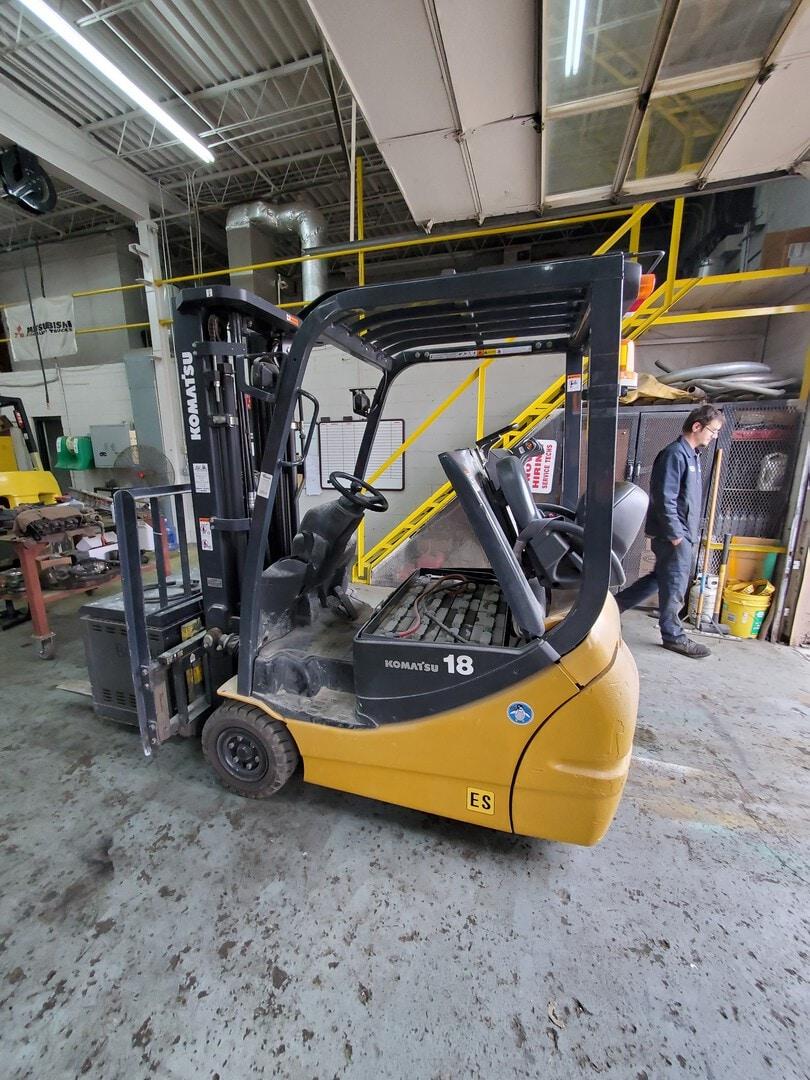 Used, 2015, Komatsu, FB18MU-12, Forklifts / Lift Trucks