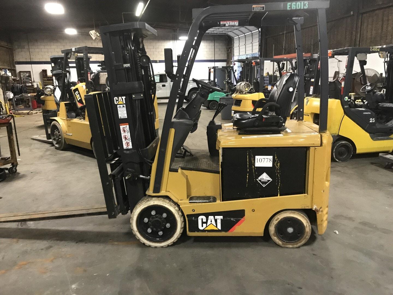 Used, 2016, CAT Lift Trucks, EC25N2 36V, Forklifts / Lift Trucks
