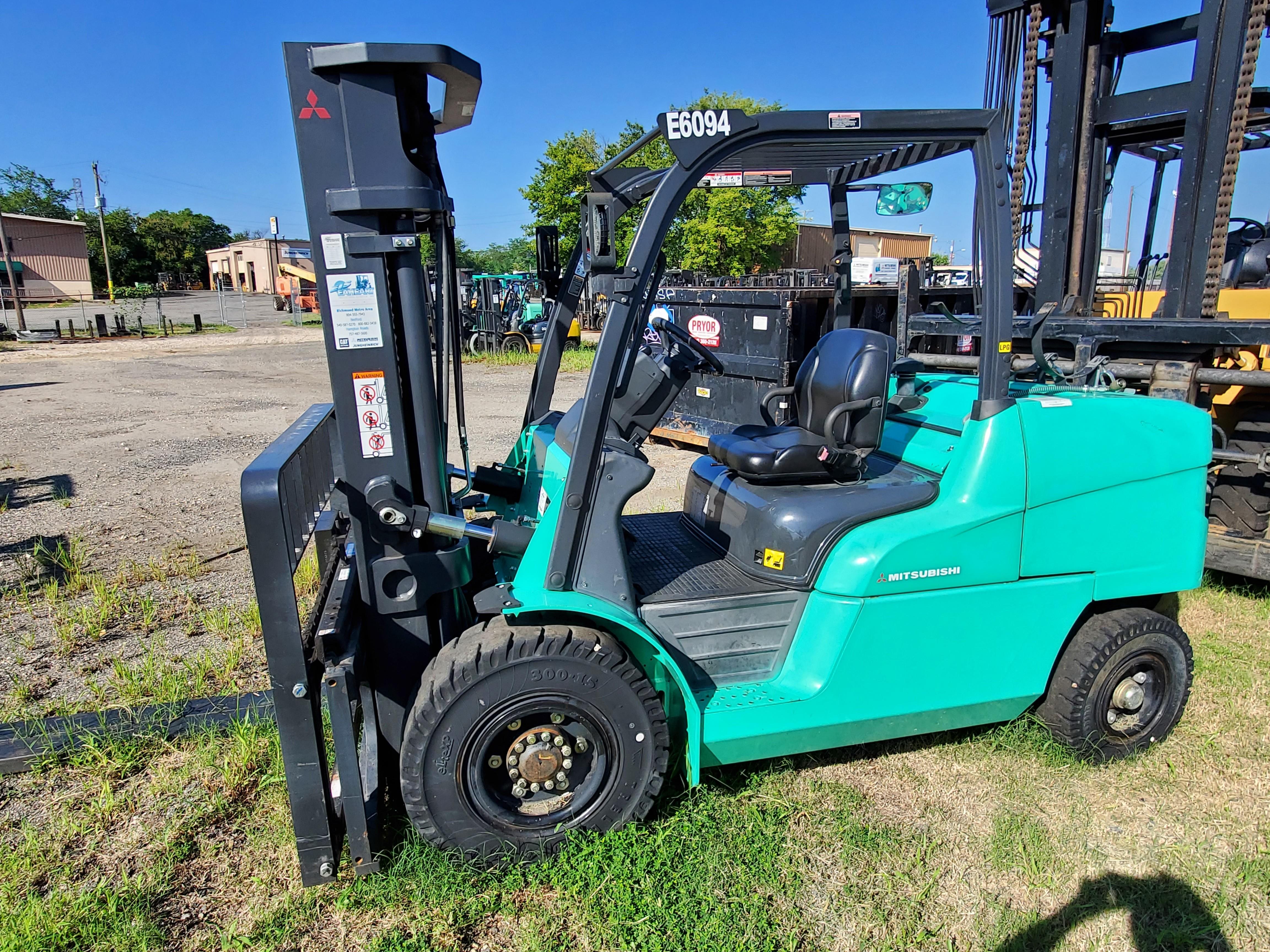 Used, 2014, Mitsubishi Forklift, FG55N1, Forklifts / Lift Trucks