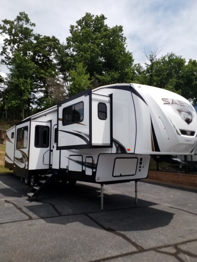 New, 2021, Forest River, Sabre 37 FLH, Fifth Wheels