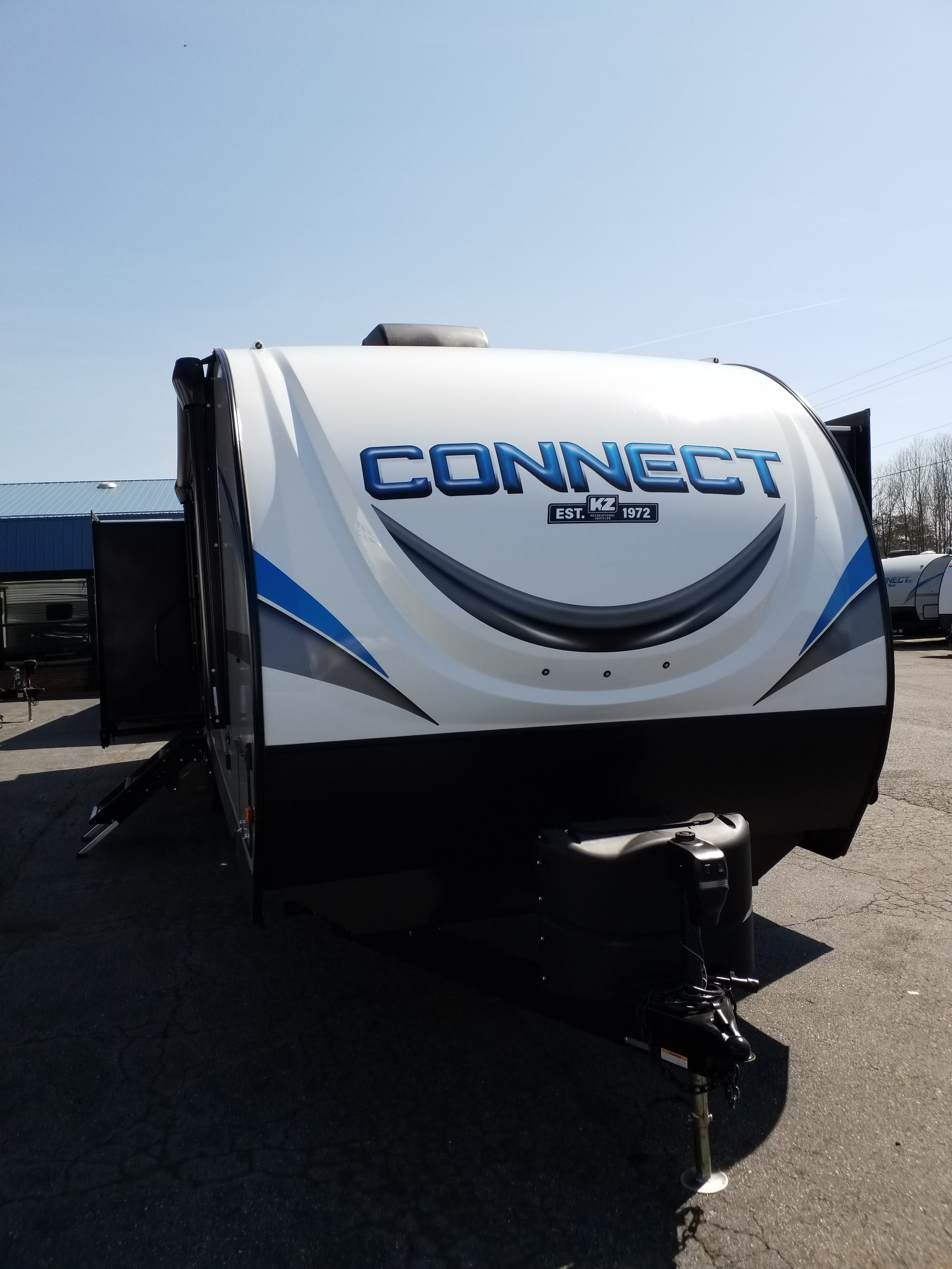 New, 2021, KZ RV, Connect 323 RK, Travel Trailers