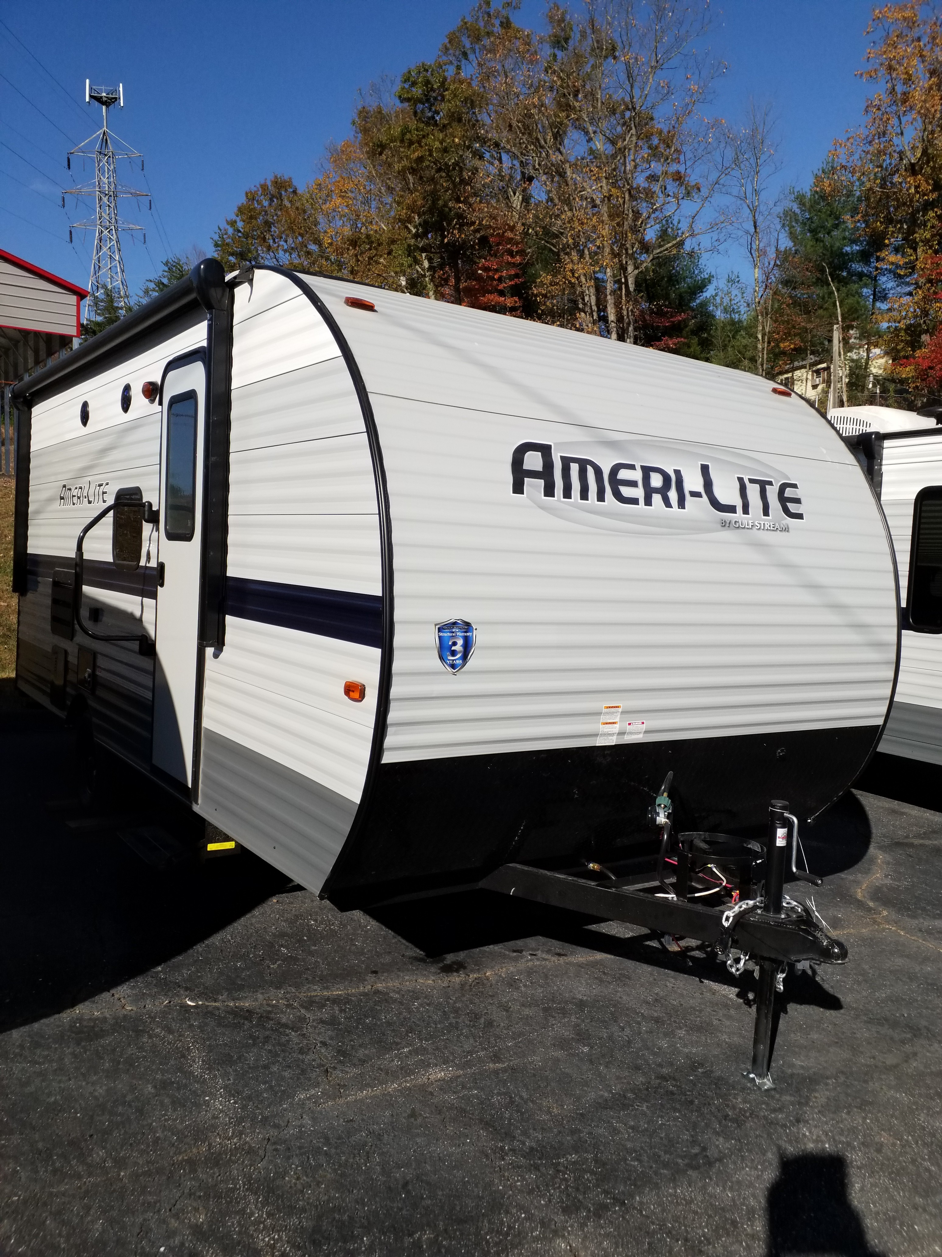 New, 2021, Gulf Stream, Ameri-Lite 199DD, Travel Trailers