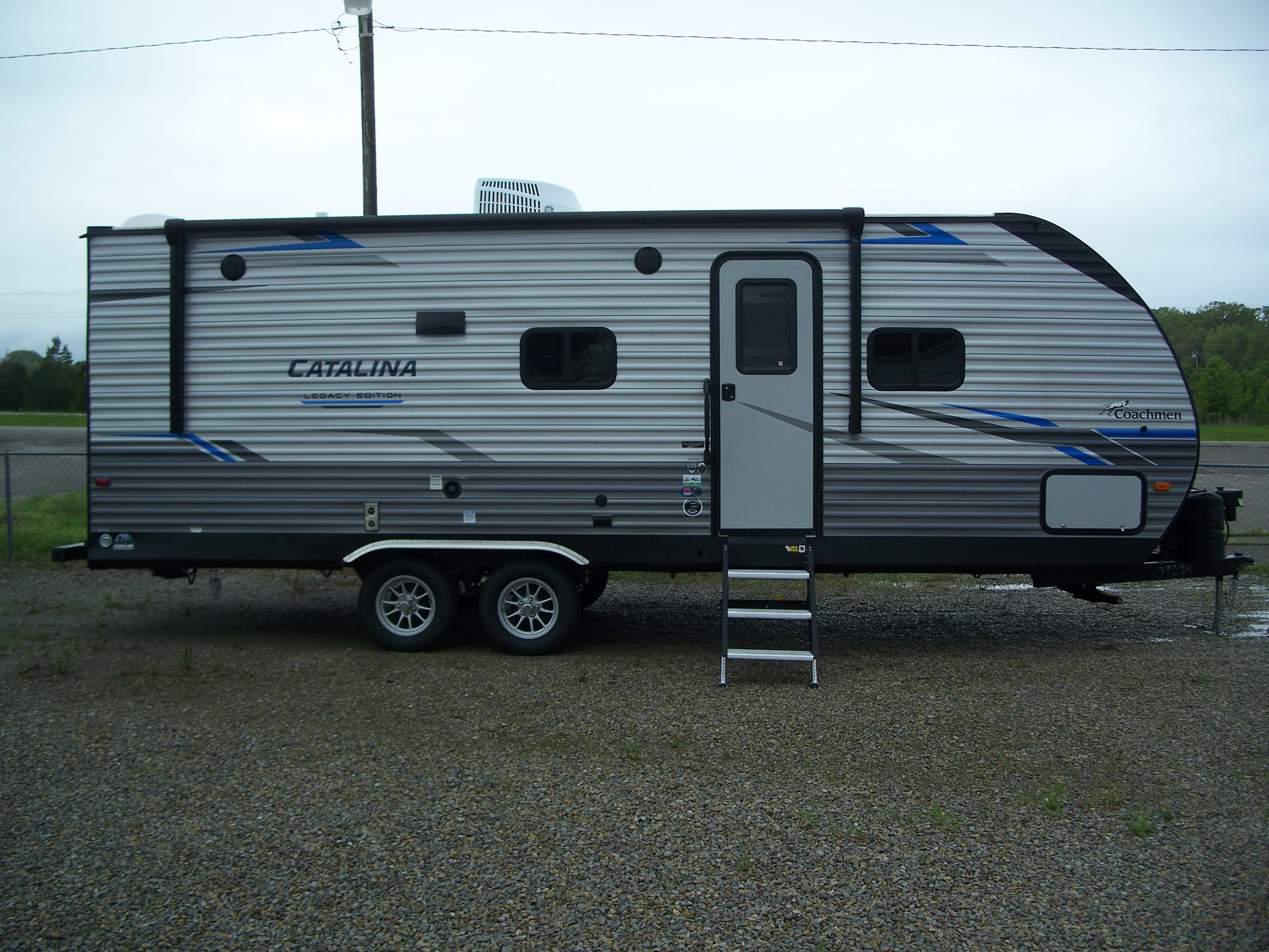 New, 2021, Coachmen, Catalina Legacy Edition 243RBS, Travel Trailers