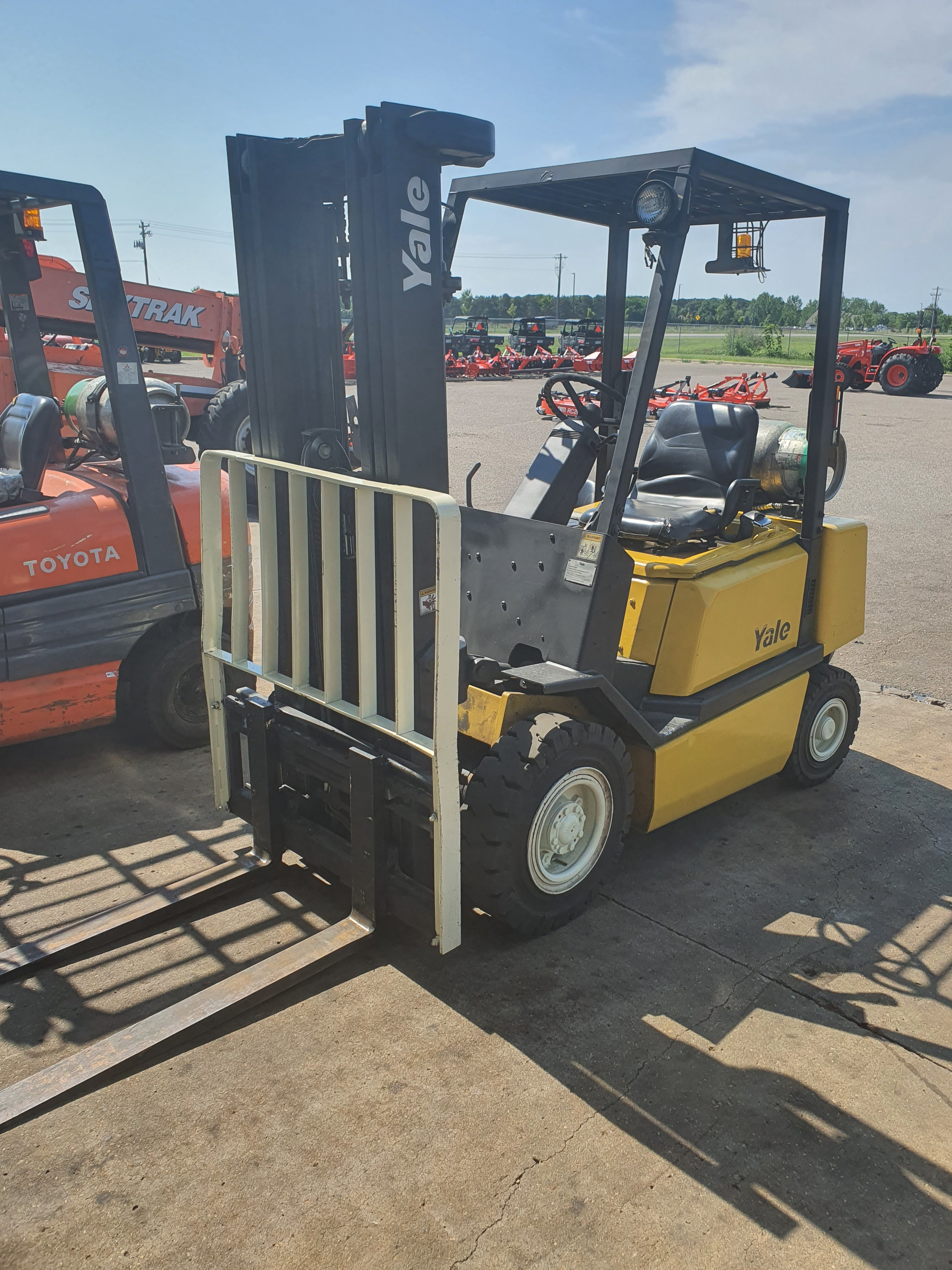 Used, 2002, Yale, GLP050RG, Forklifts / Lift Trucks