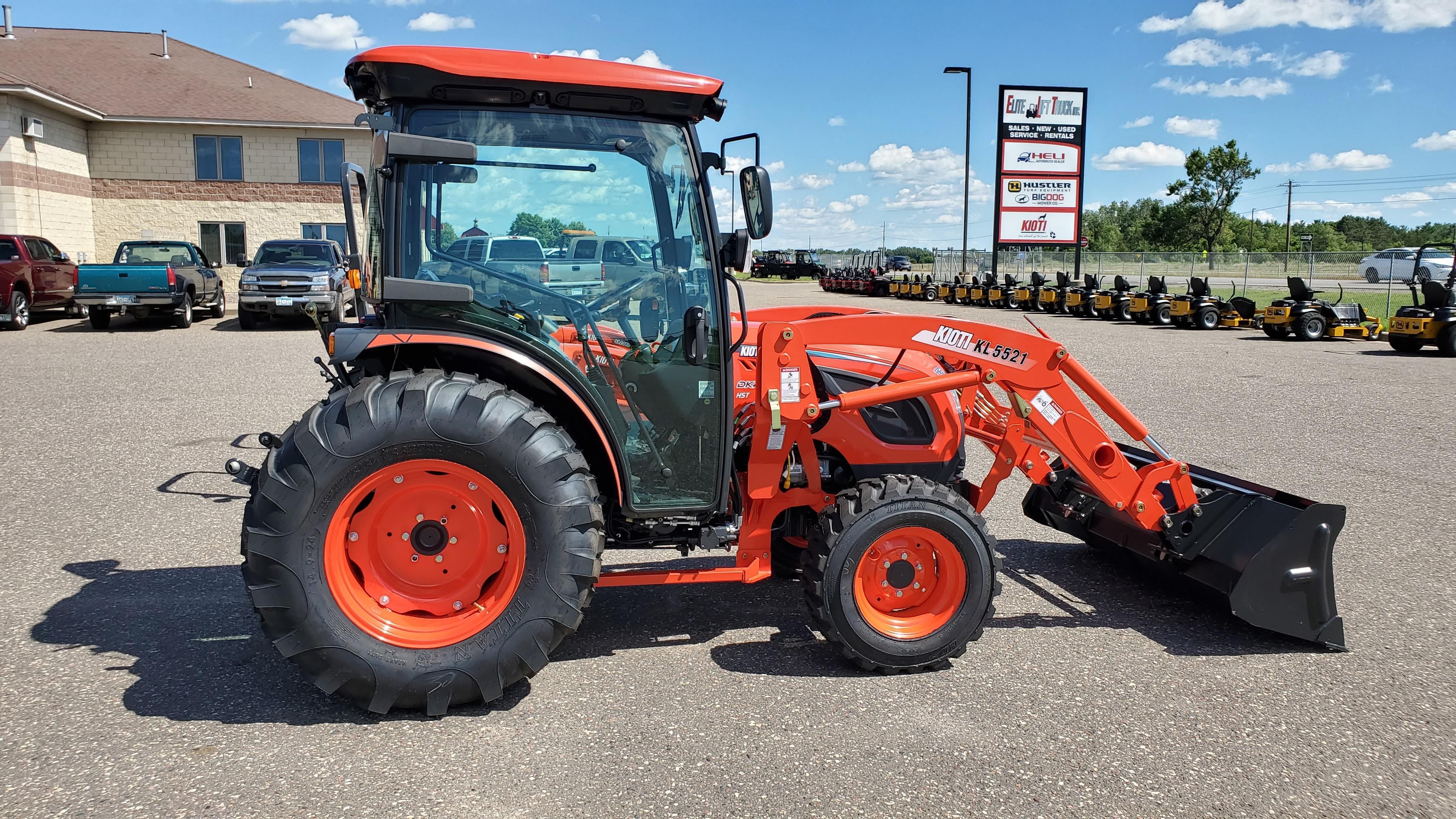 New, 2020, Kioti, DK4210SE HC, Tractors