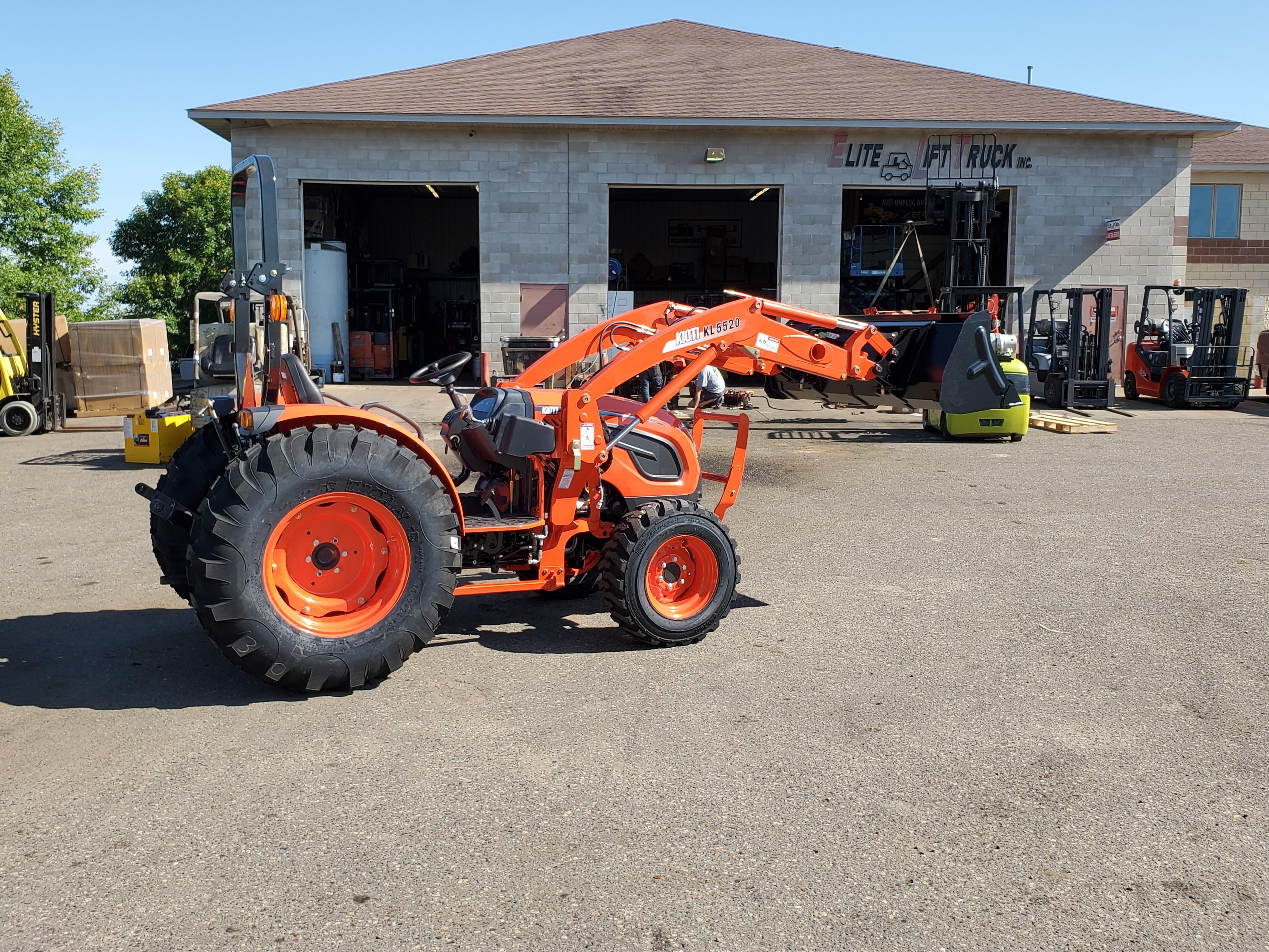New, 2020, Kioti, DK4710SE HST, Tractors