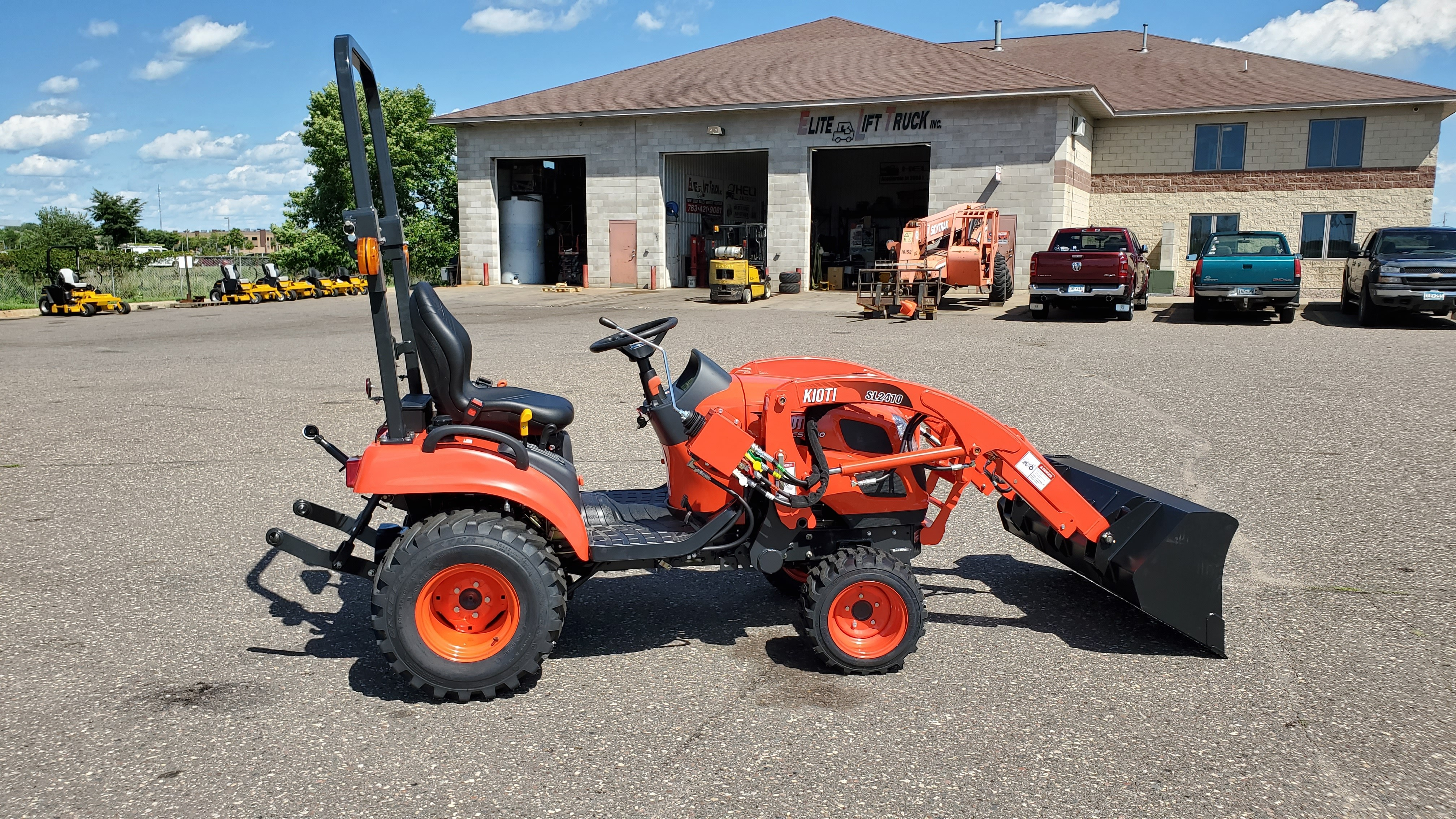 New, 2020, Kioti, CS2510, Tractors