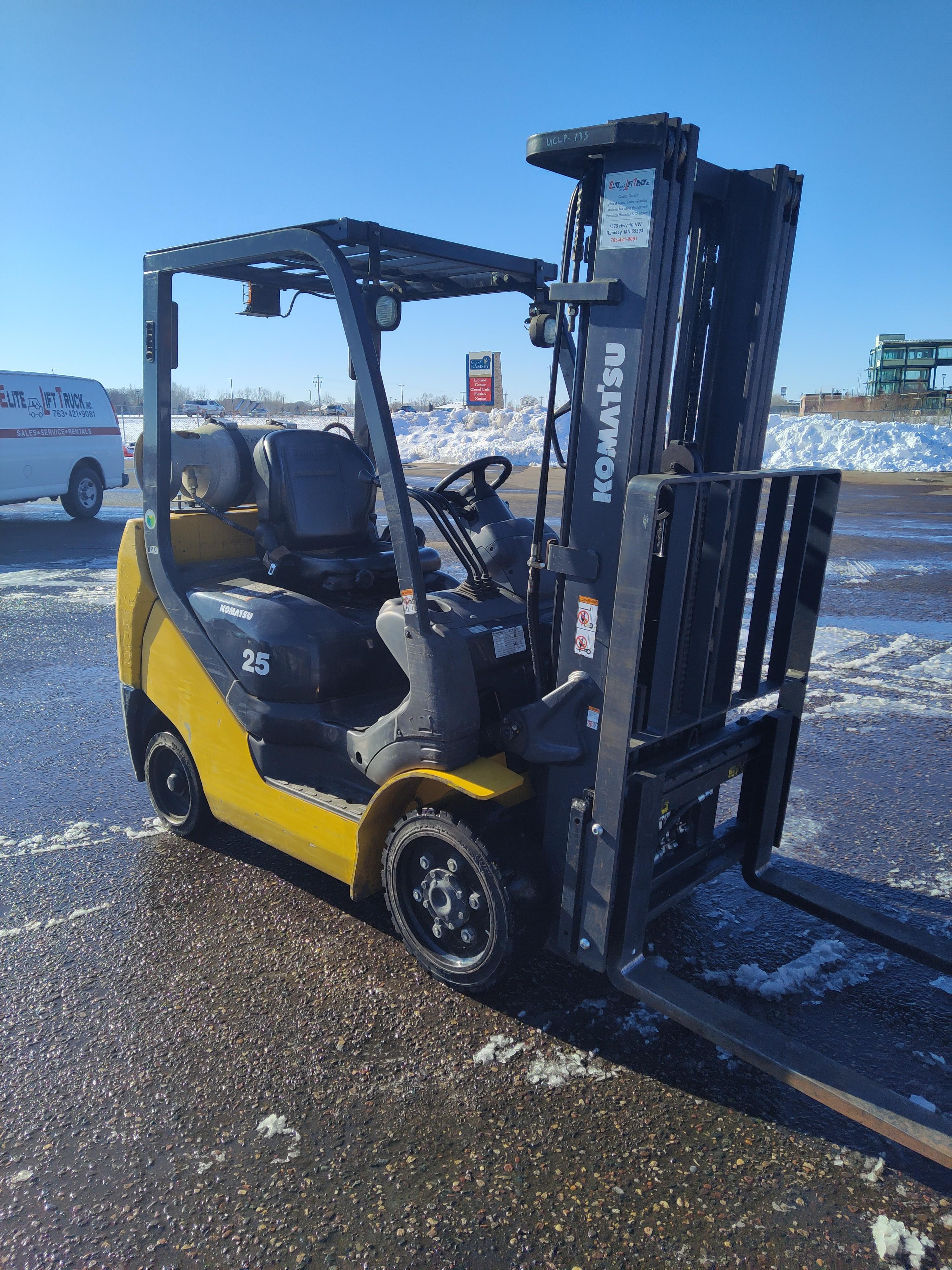 Used, 2017, Komatsu, FG25ST-16, Forklifts / Lift Trucks