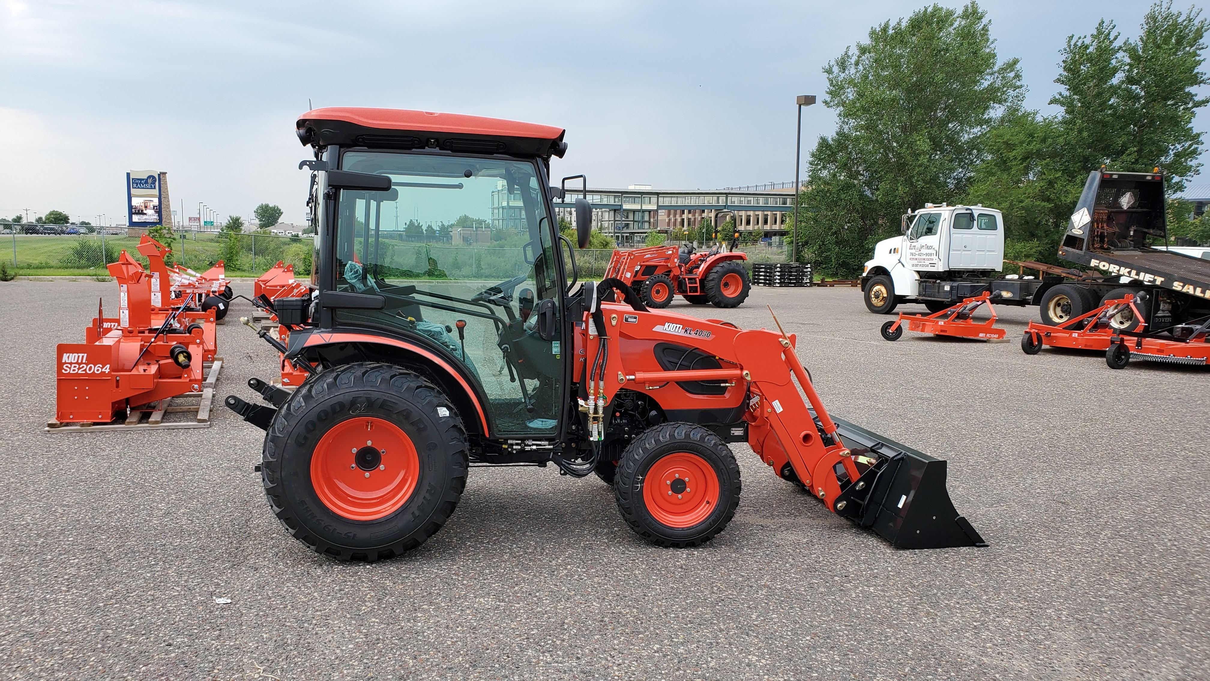 New, 2020, KIOTI, CK2610SE Cab, Tractors