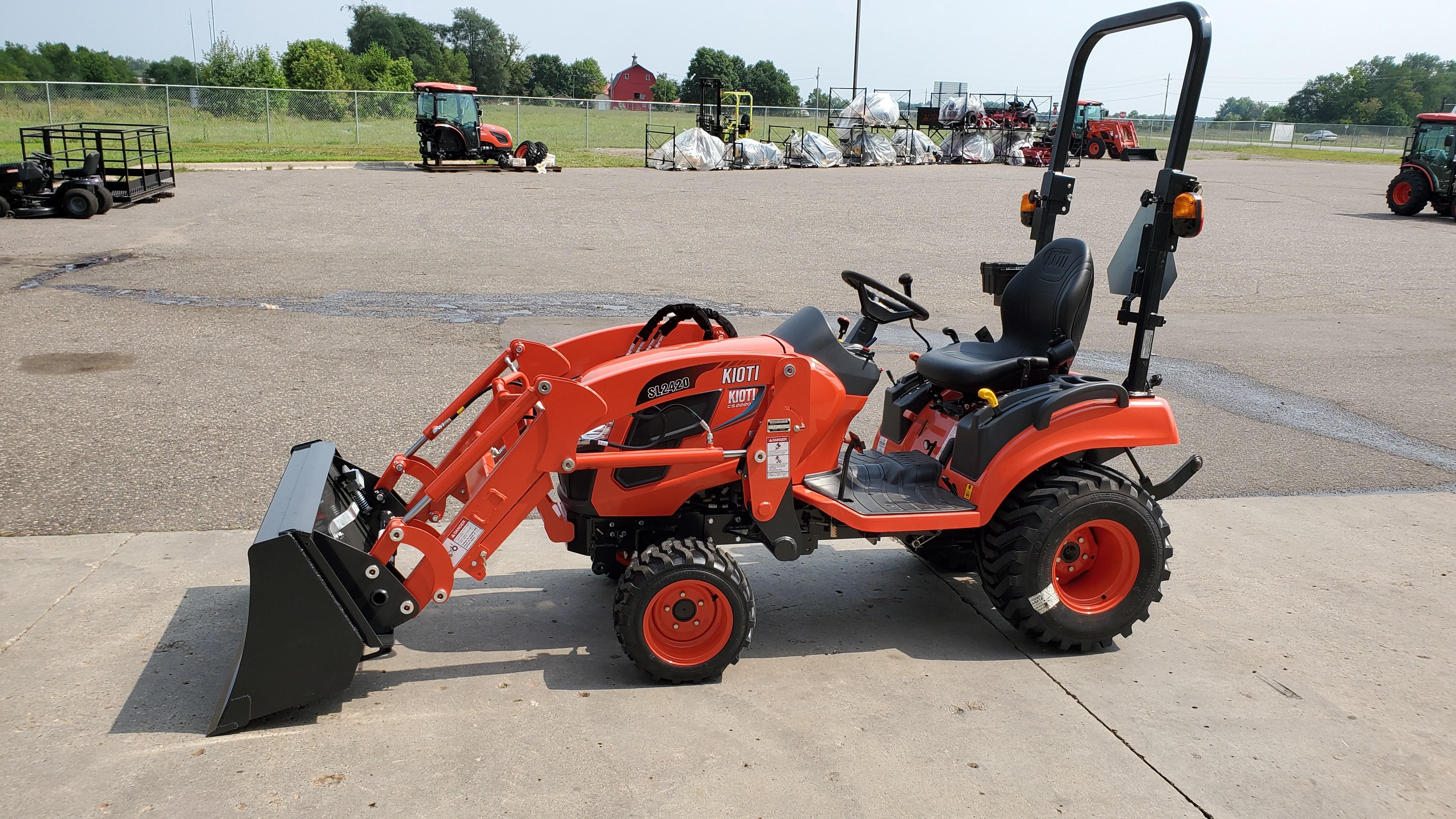 New, 2020, KIOTI, CS2220, Tractors
