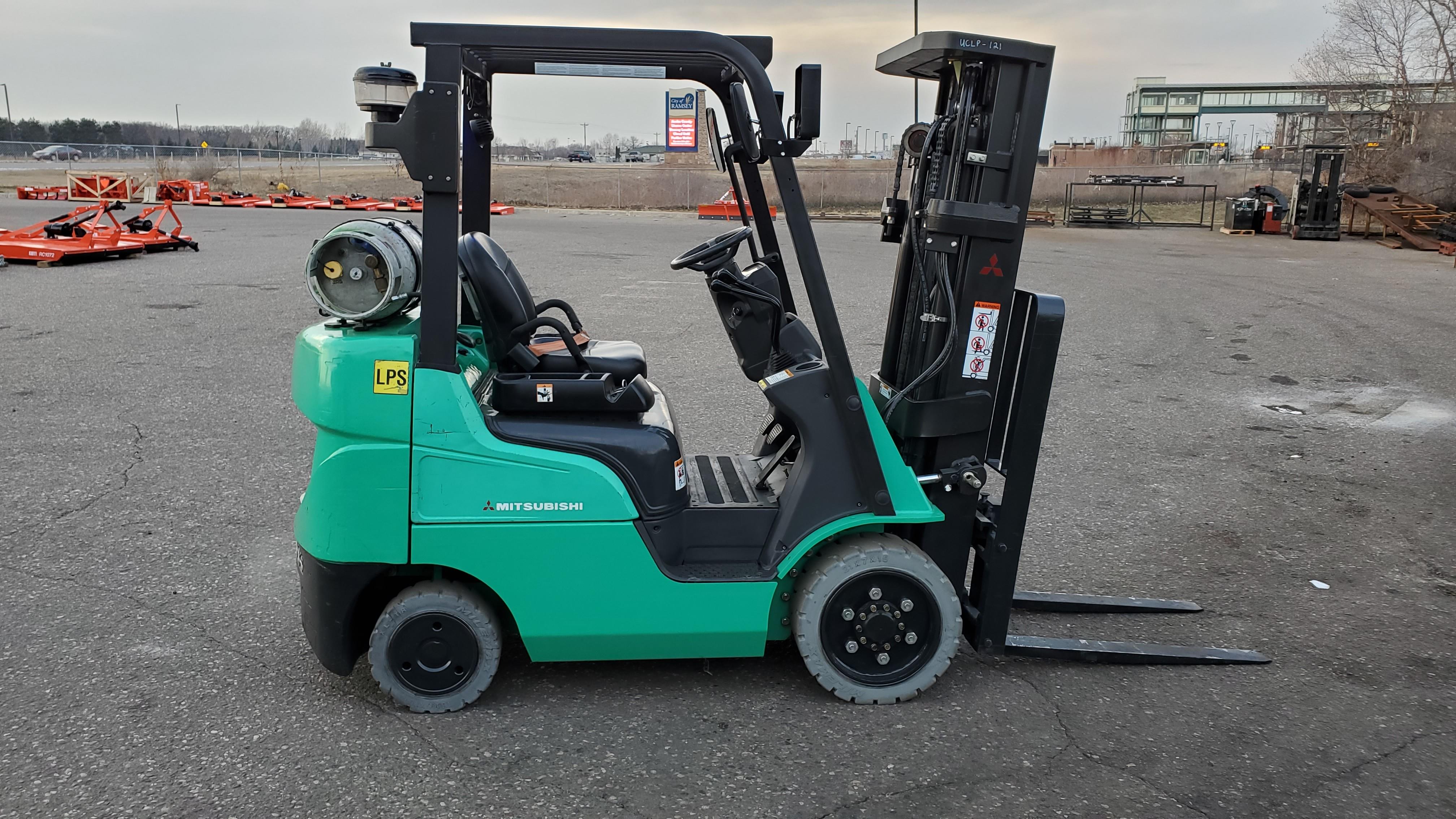 Used, 2015, Mitsubishi Forklift, FG25N4, Forklifts / Lift Trucks