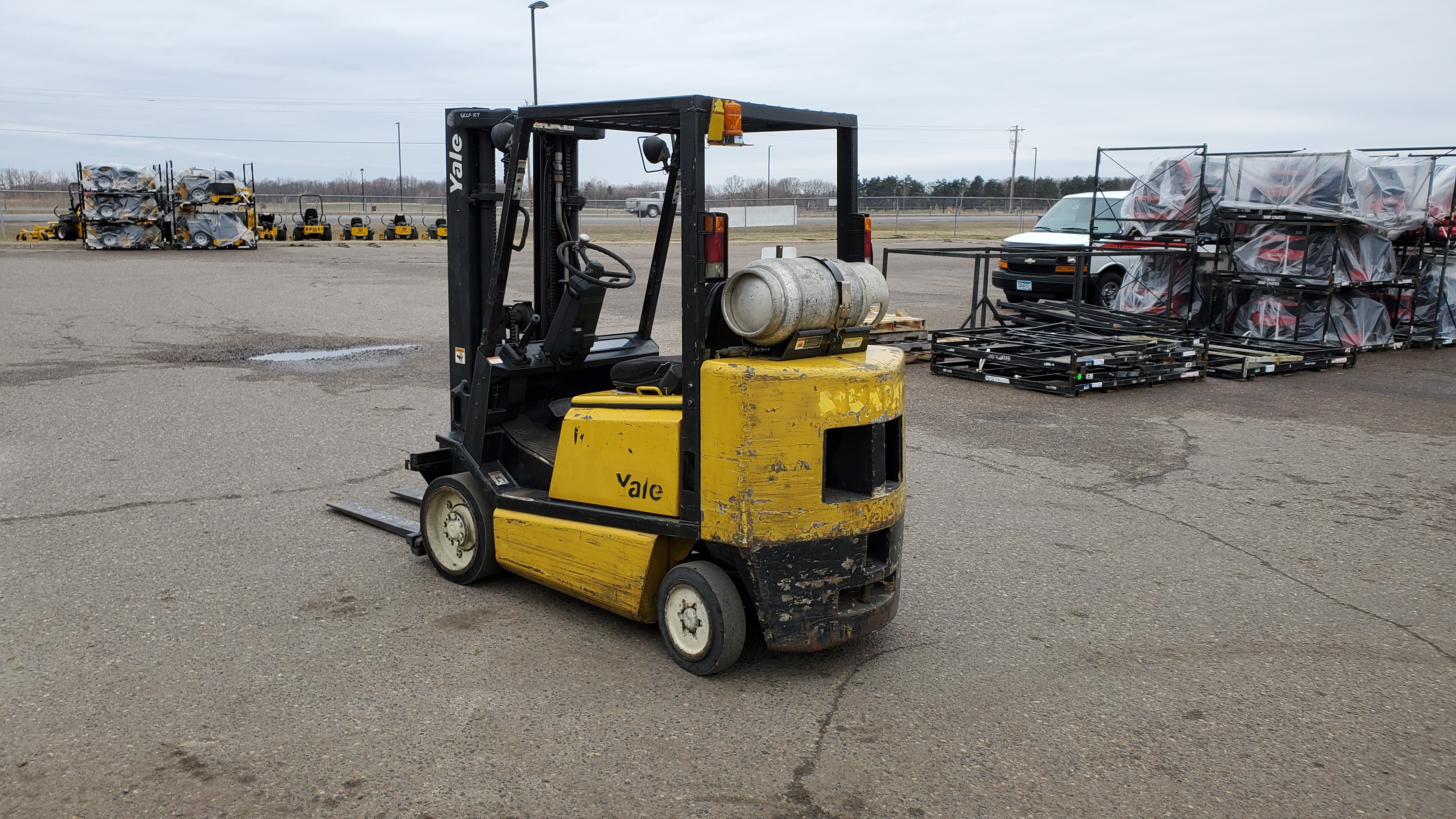 Used, 1995, Yale, GLC050TGNUAE082, Forklifts / Lift Trucks