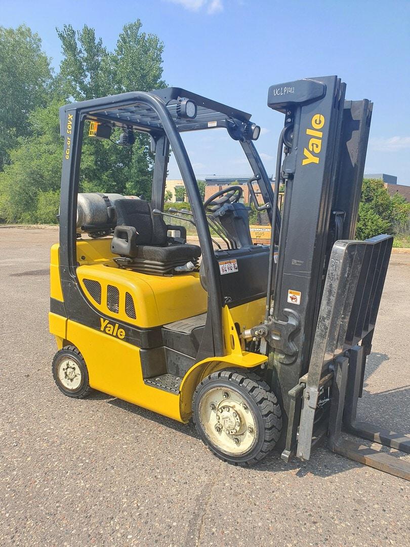 Used, 2014, Yale, GLC050VXN, Forklifts / Lift Trucks