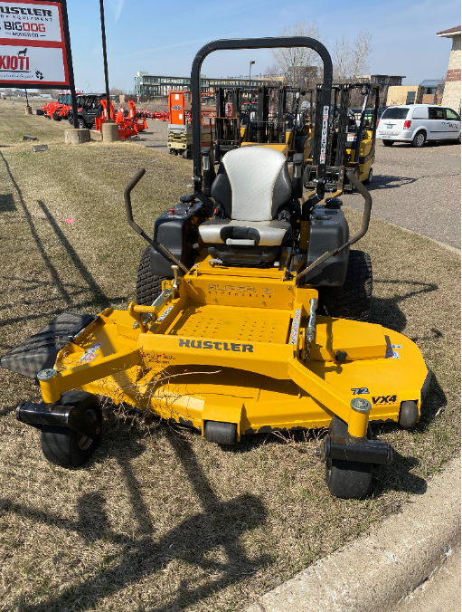 Used, 2015, Hustler Turf Equipment, Super Z HD FX1000DFI SD (72 in.), Lawn Mowers