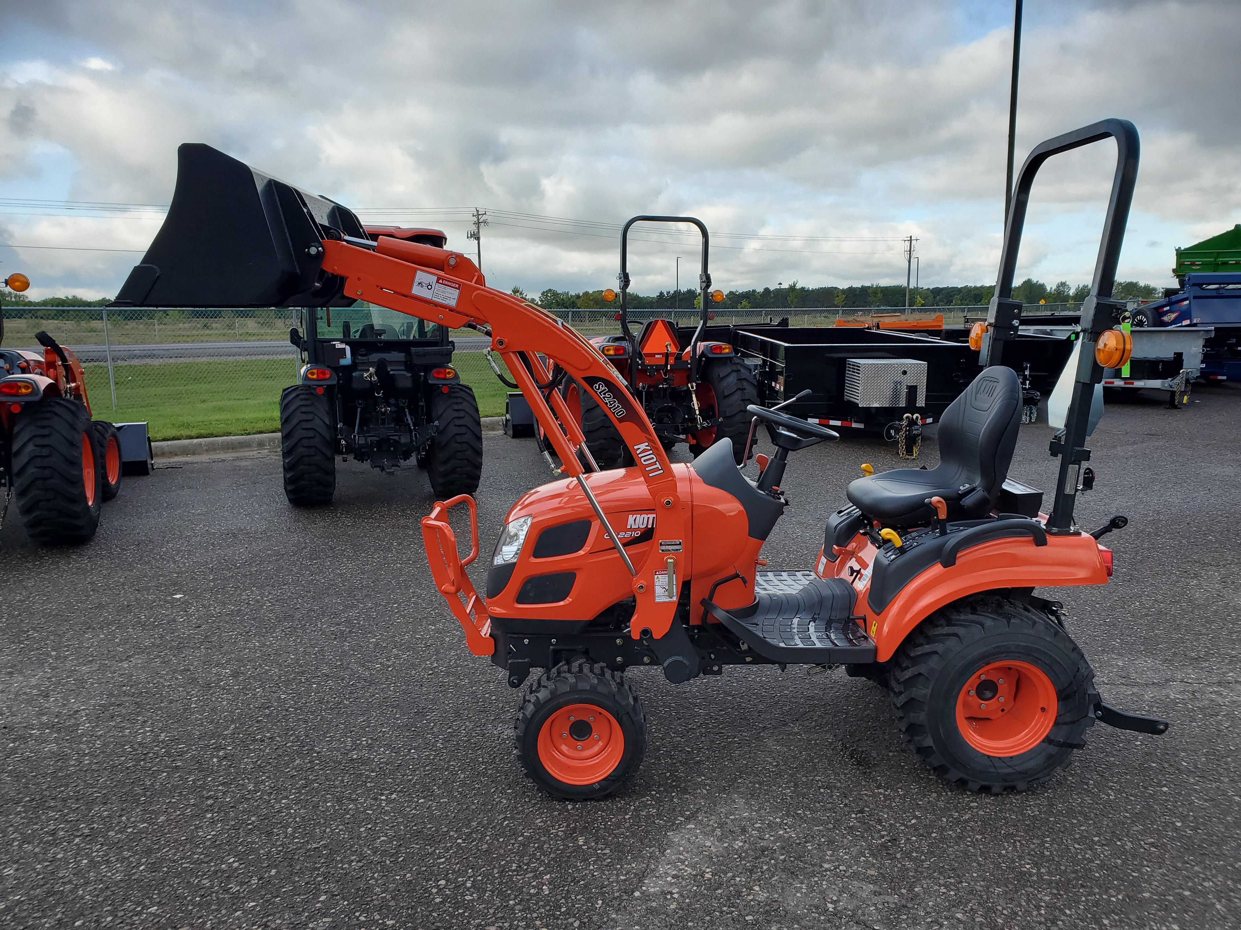 New, 2020, KIOTI, CS2210, Tractors