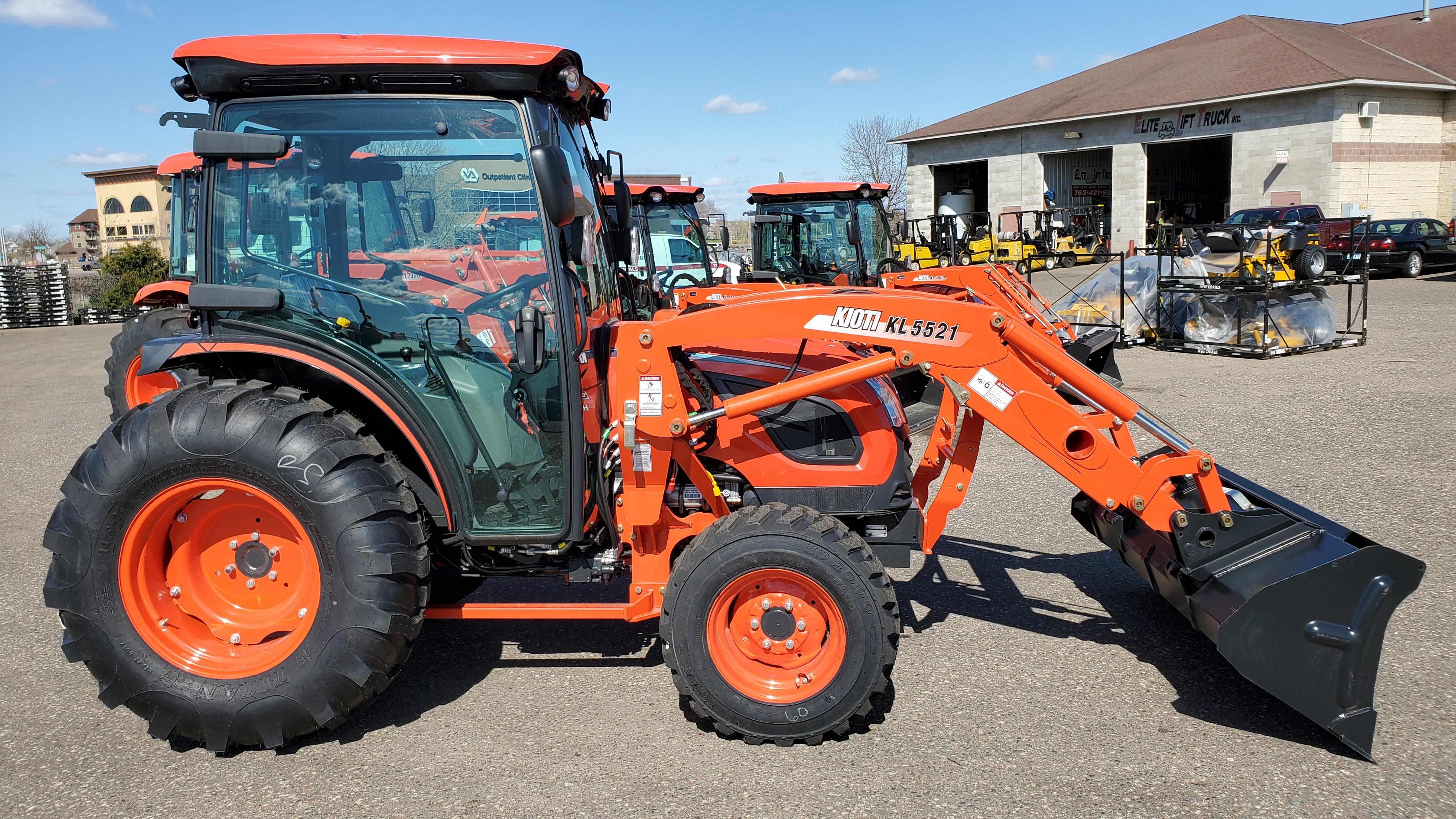 New, 2020, Kioti, DK6010SE HC, Tractors