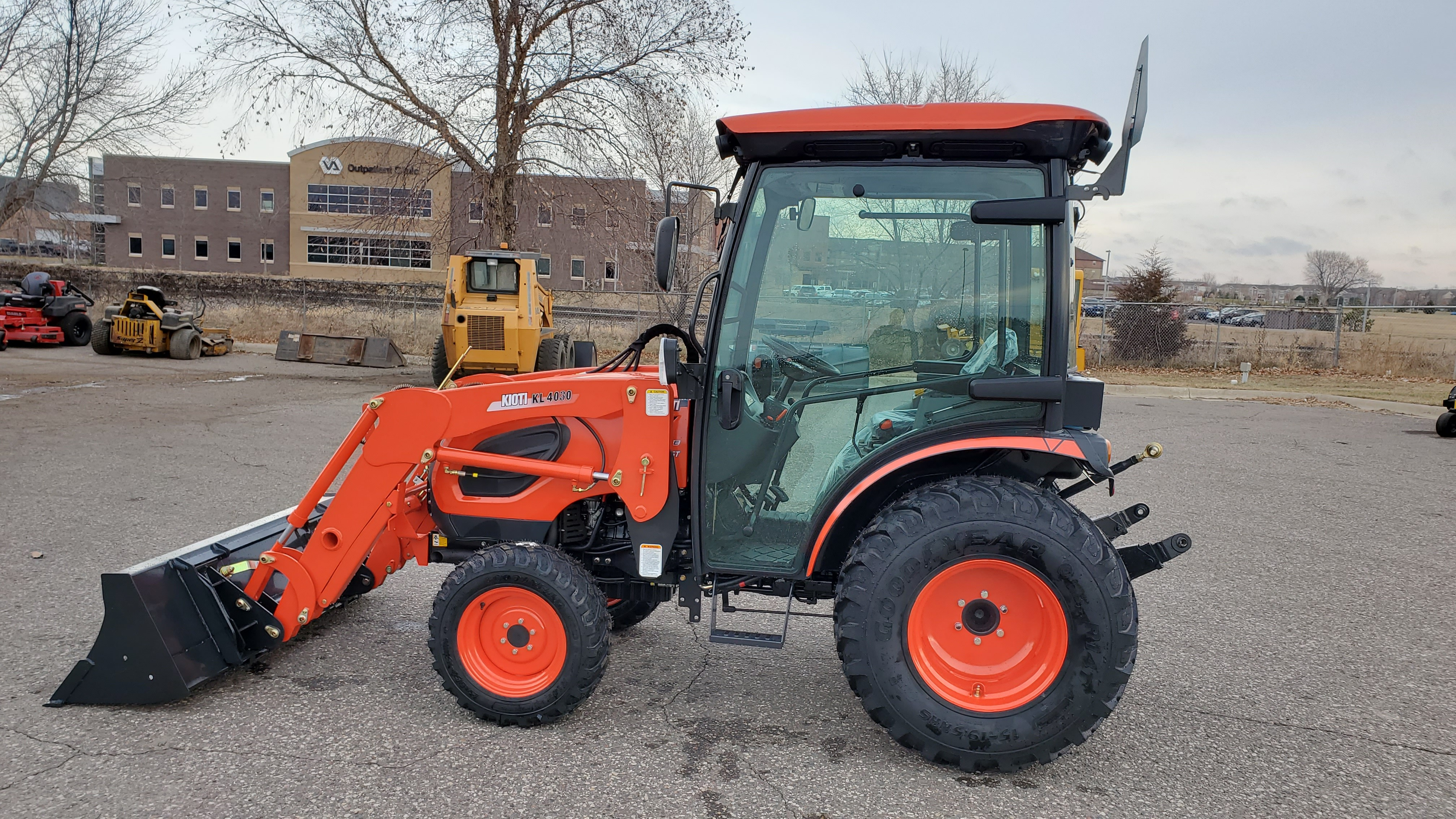 New, 2020, Kioti, CK4010SE HC, Tractors