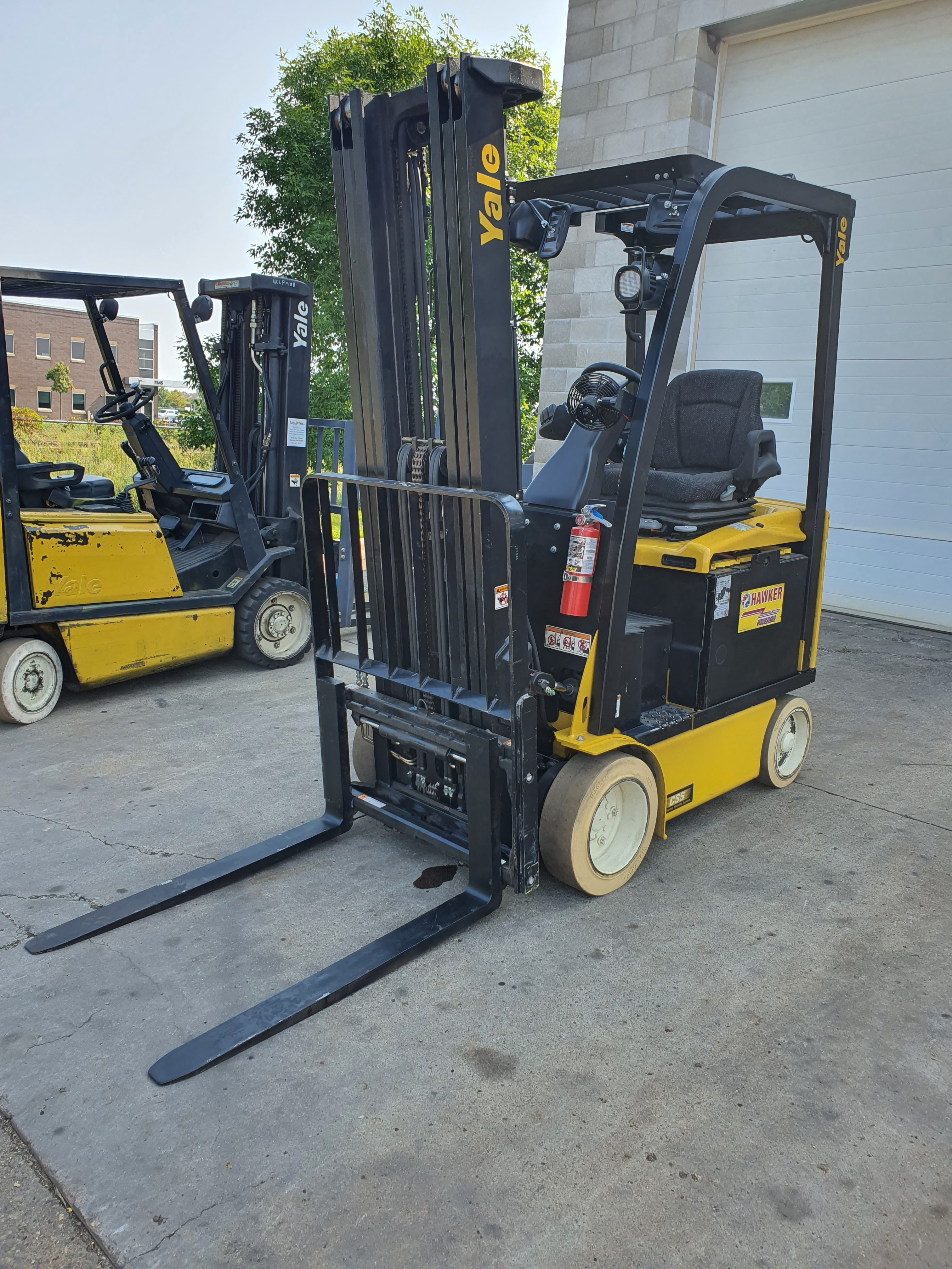 Used, 2014, Yale, ERC030, Forklifts / Lift Trucks