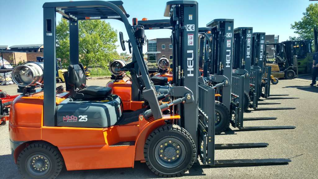 New, 2016, Heli Americas, CPYD25, Forklifts / Lift Trucks