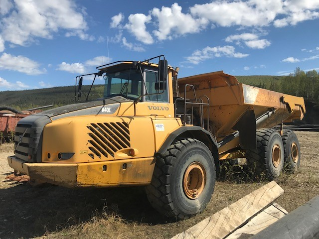 Used, 0, Volvo Construction, A40E, Off-Highway Trucks