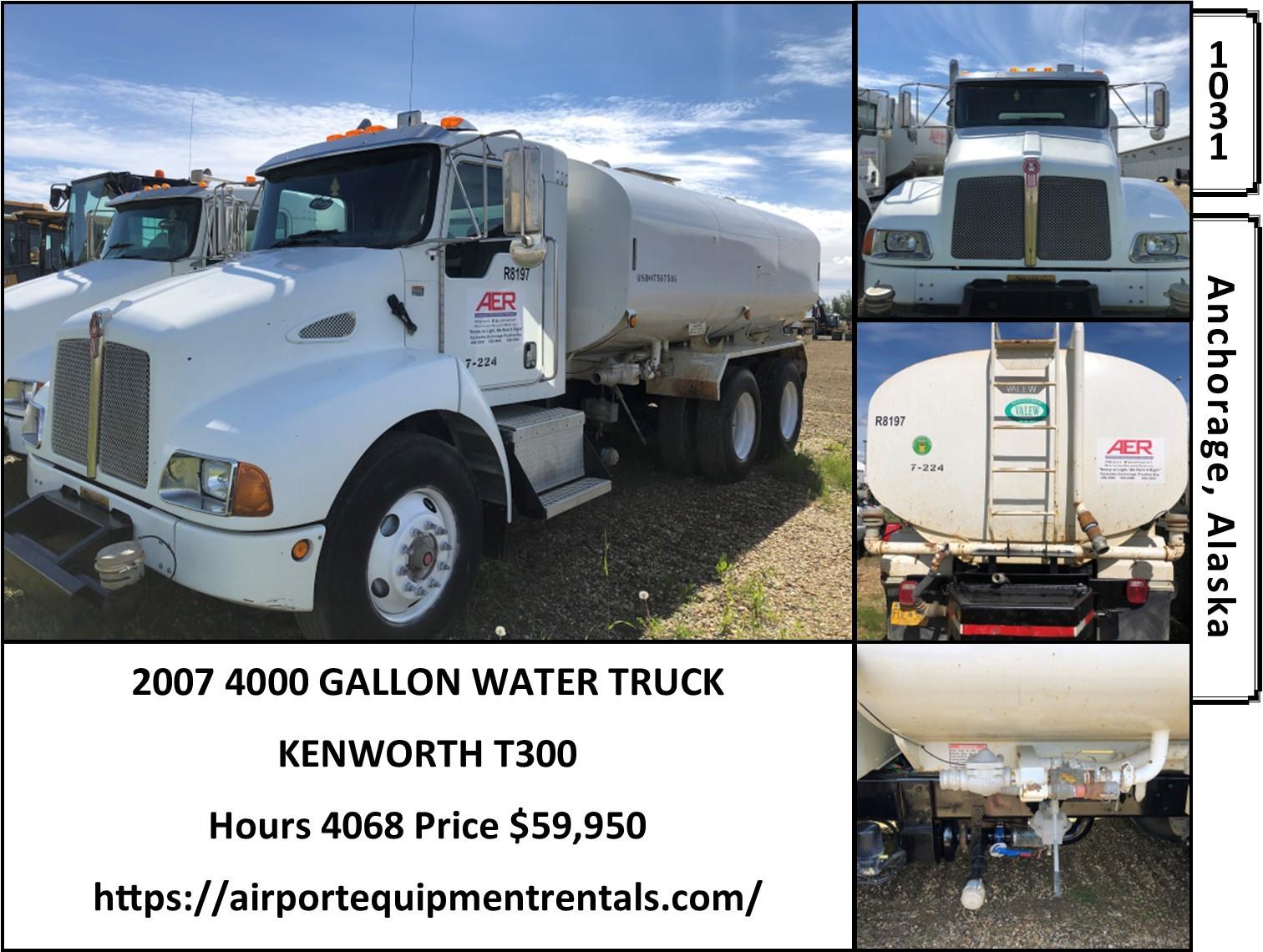 Used, 2007, Kenworth, T300, Tanker Trucks