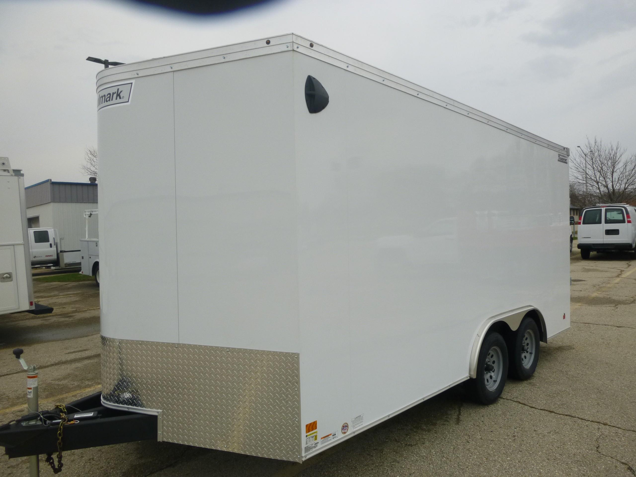 New, 2019, Haulmark, 8'6 x 16' Transport V, Trailers