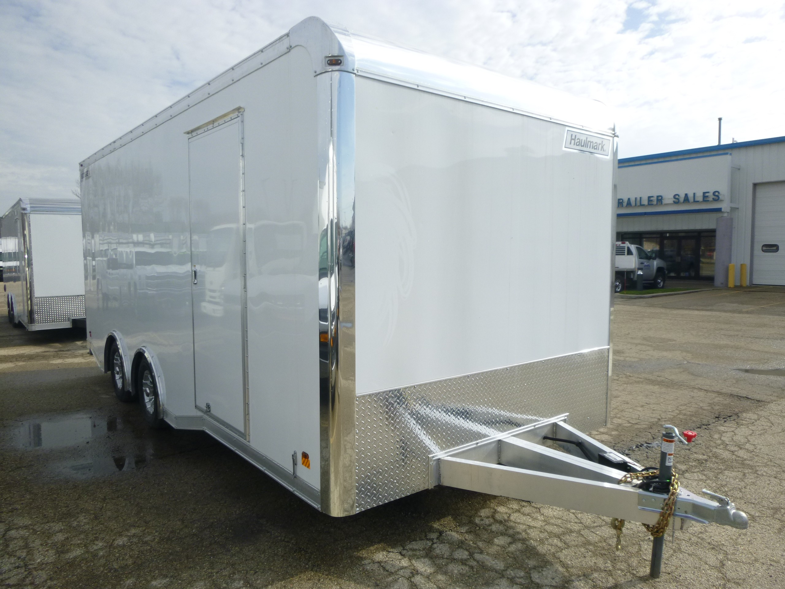 New, 2019, Haulmark, Edge Aluminum 8'6 x 20' Car Hauler, Trailers