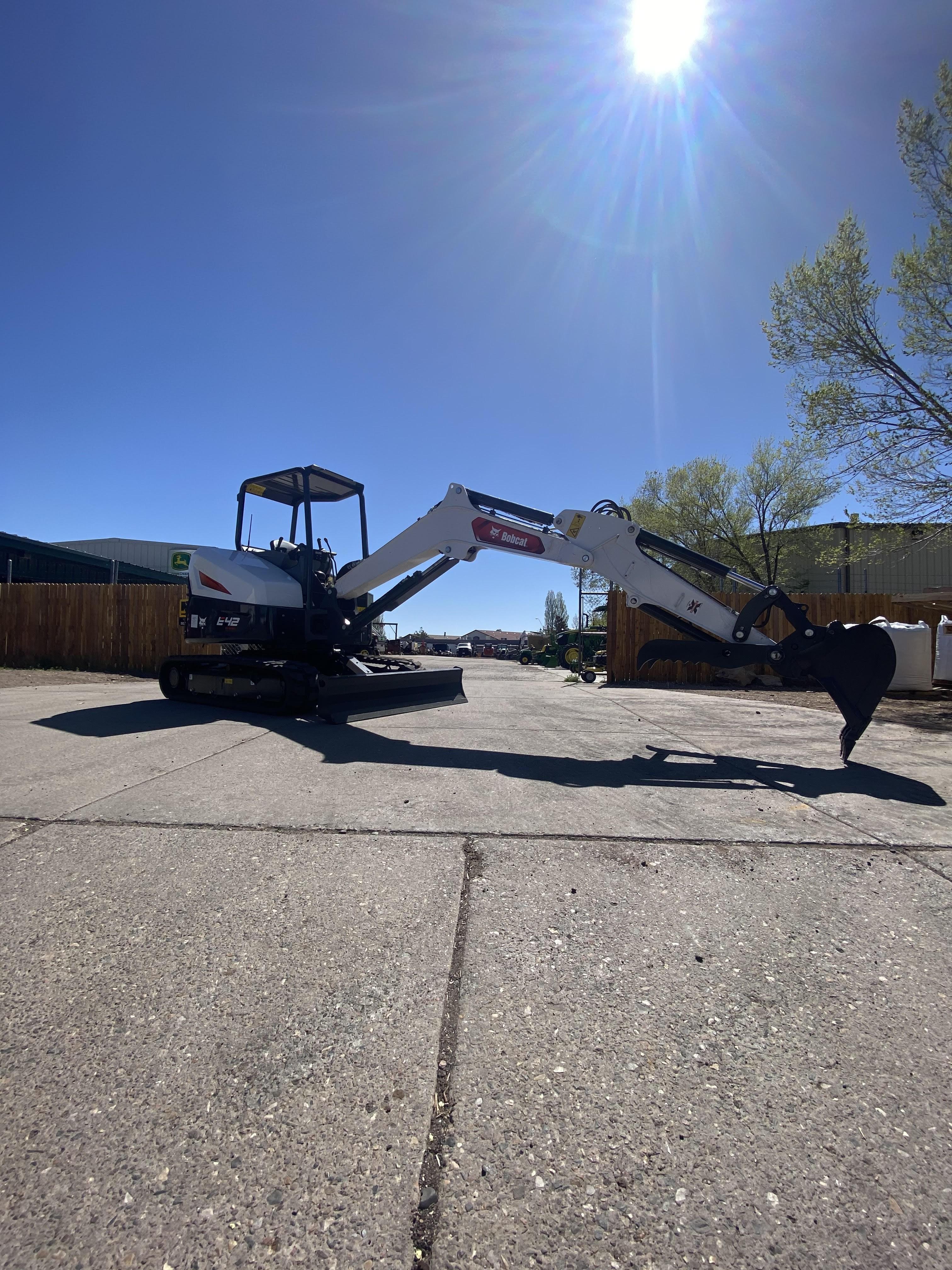 New, 2019, Bobcat, E42, Excavators