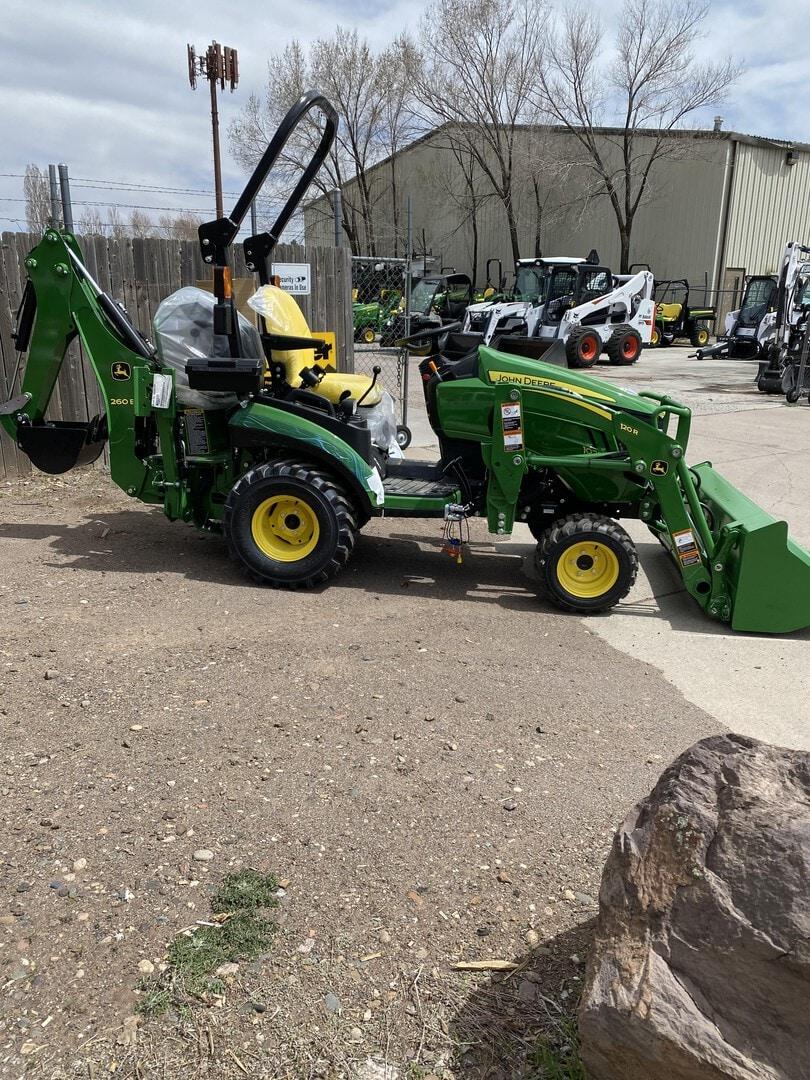 New, 2016, John Deere, 1 Family 1025R TLB, Tractors