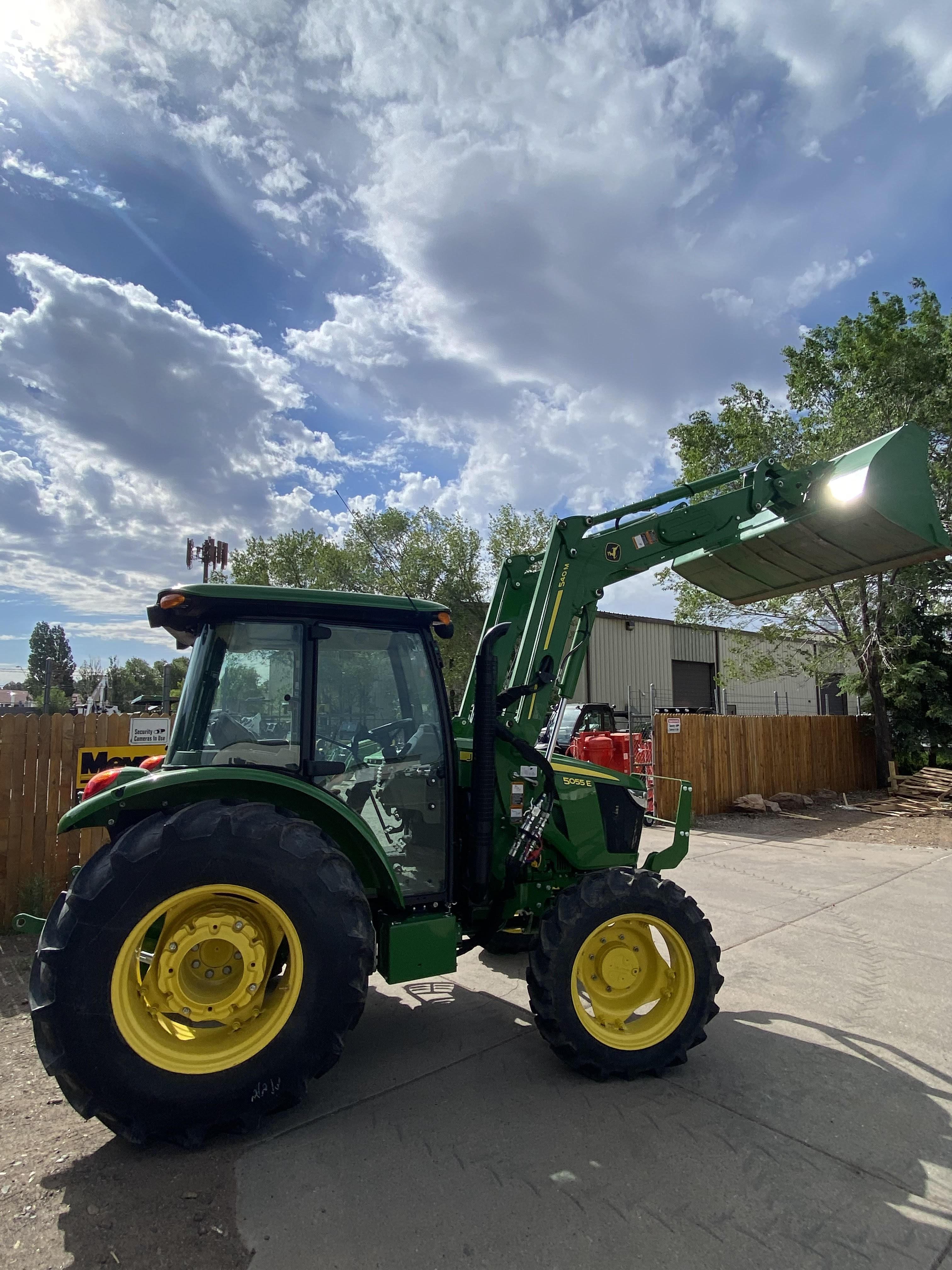 Used, 2015, John Deere, 5000 E Series 5055E (4WD), Tractors